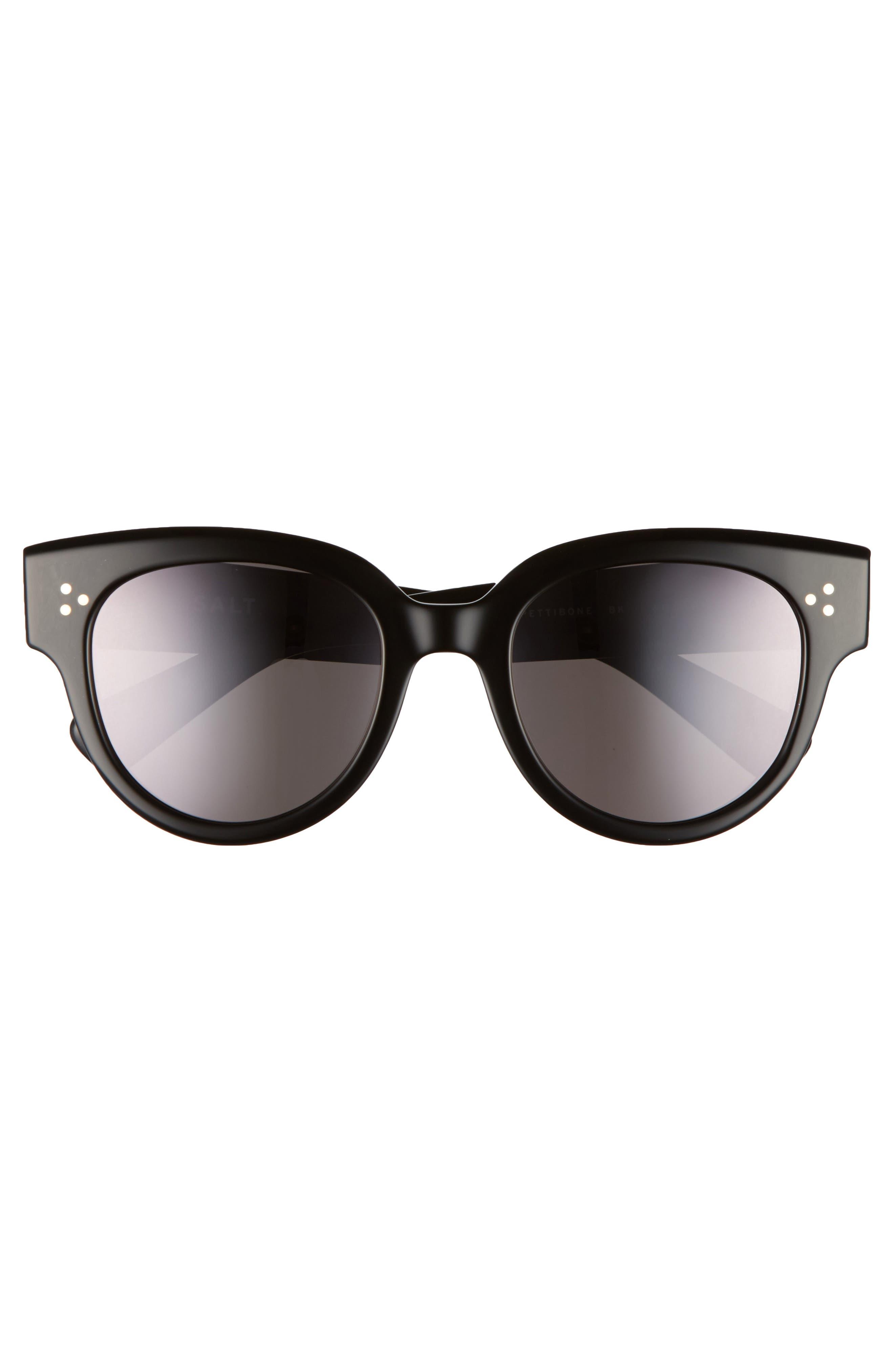 Pettibone 52mm Polarized Sunglasses,                             Alternate thumbnail 3, color,                             001