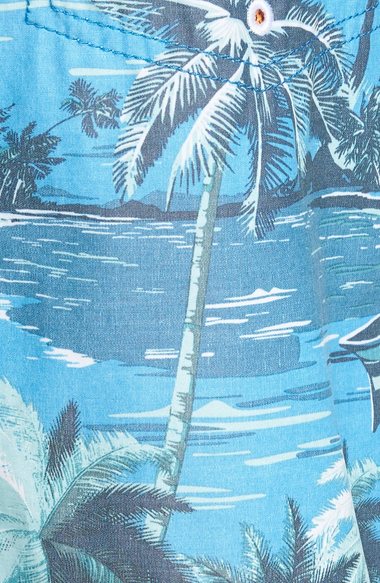 Baja Puerto Vallarta Palms Board Shorts,                             Alternate thumbnail 5, color,