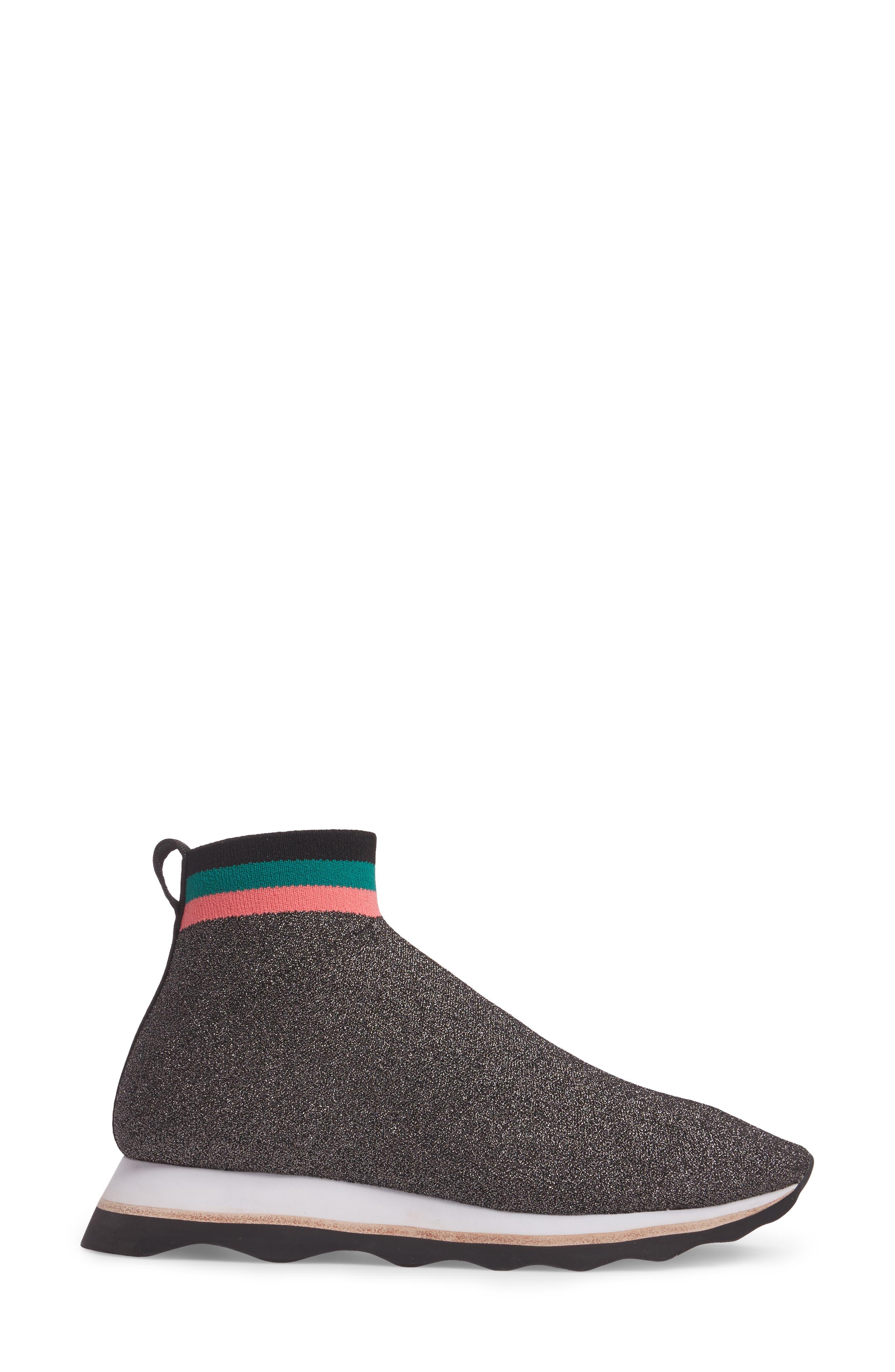 Scout Sock Sneaker,                             Alternate thumbnail 3, color,                             002