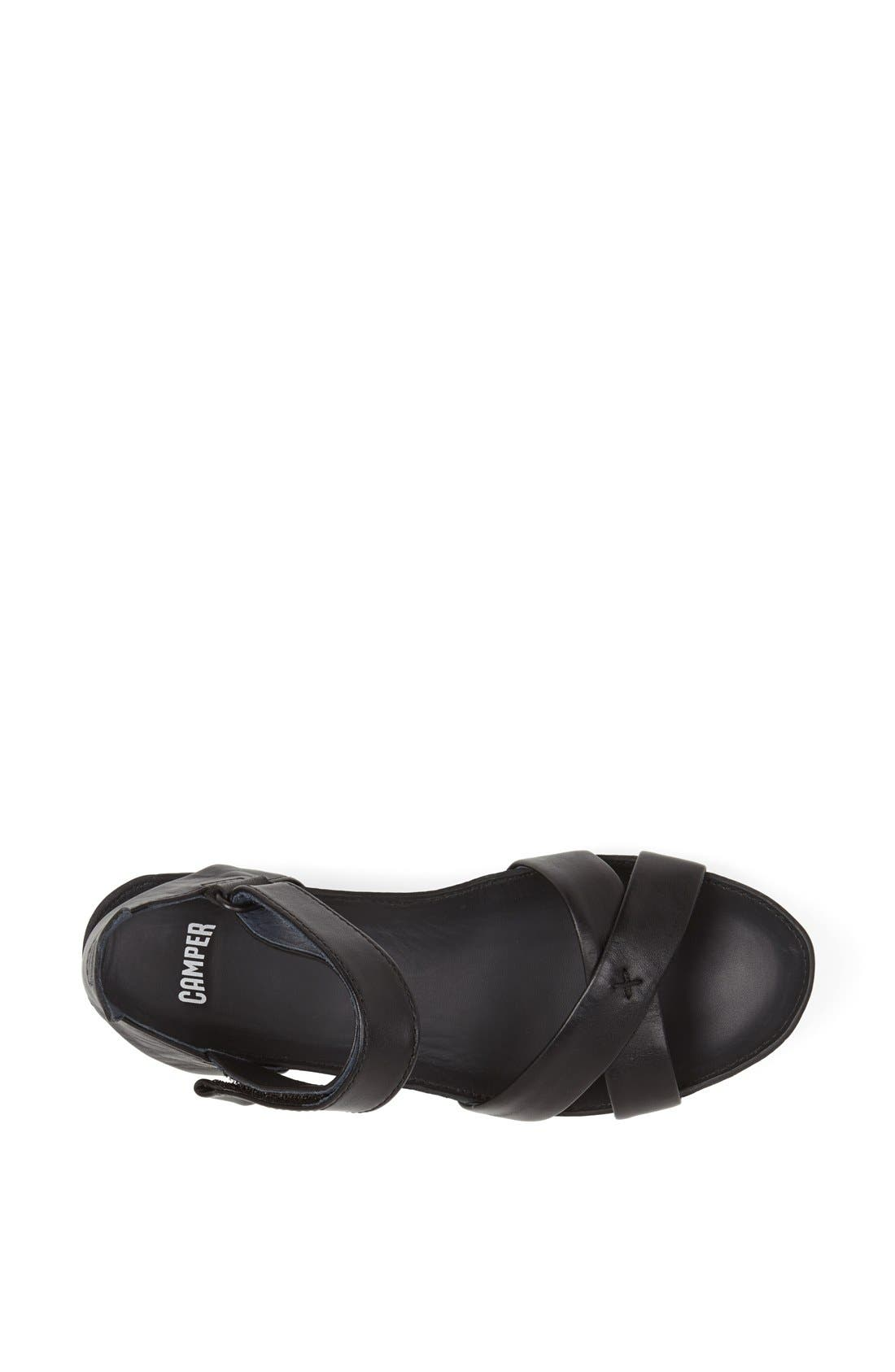 'Micro' Sandal,                             Alternate thumbnail 3, color,                             001