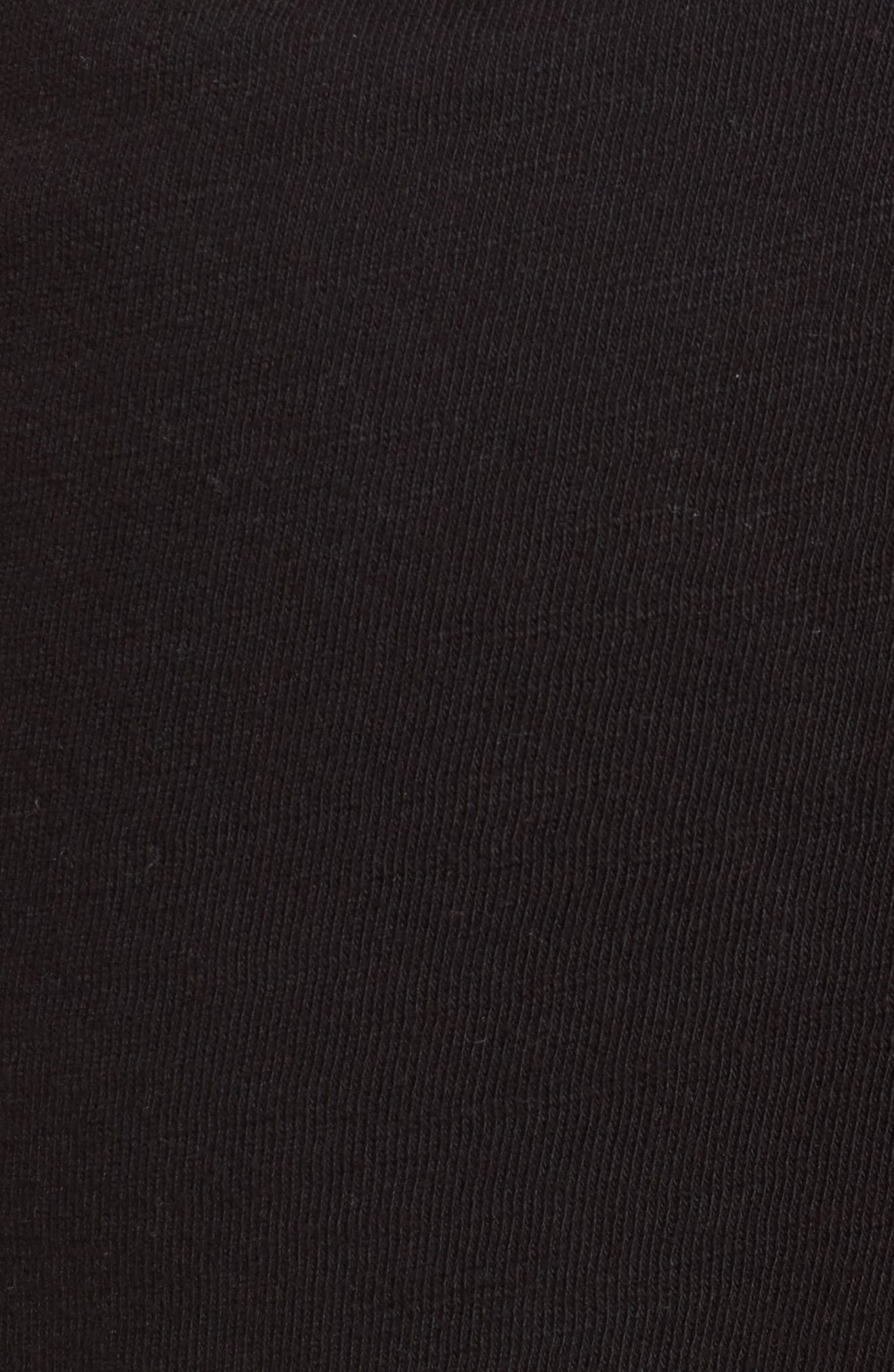 Knit Shorts,                             Alternate thumbnail 5, color,                             001
