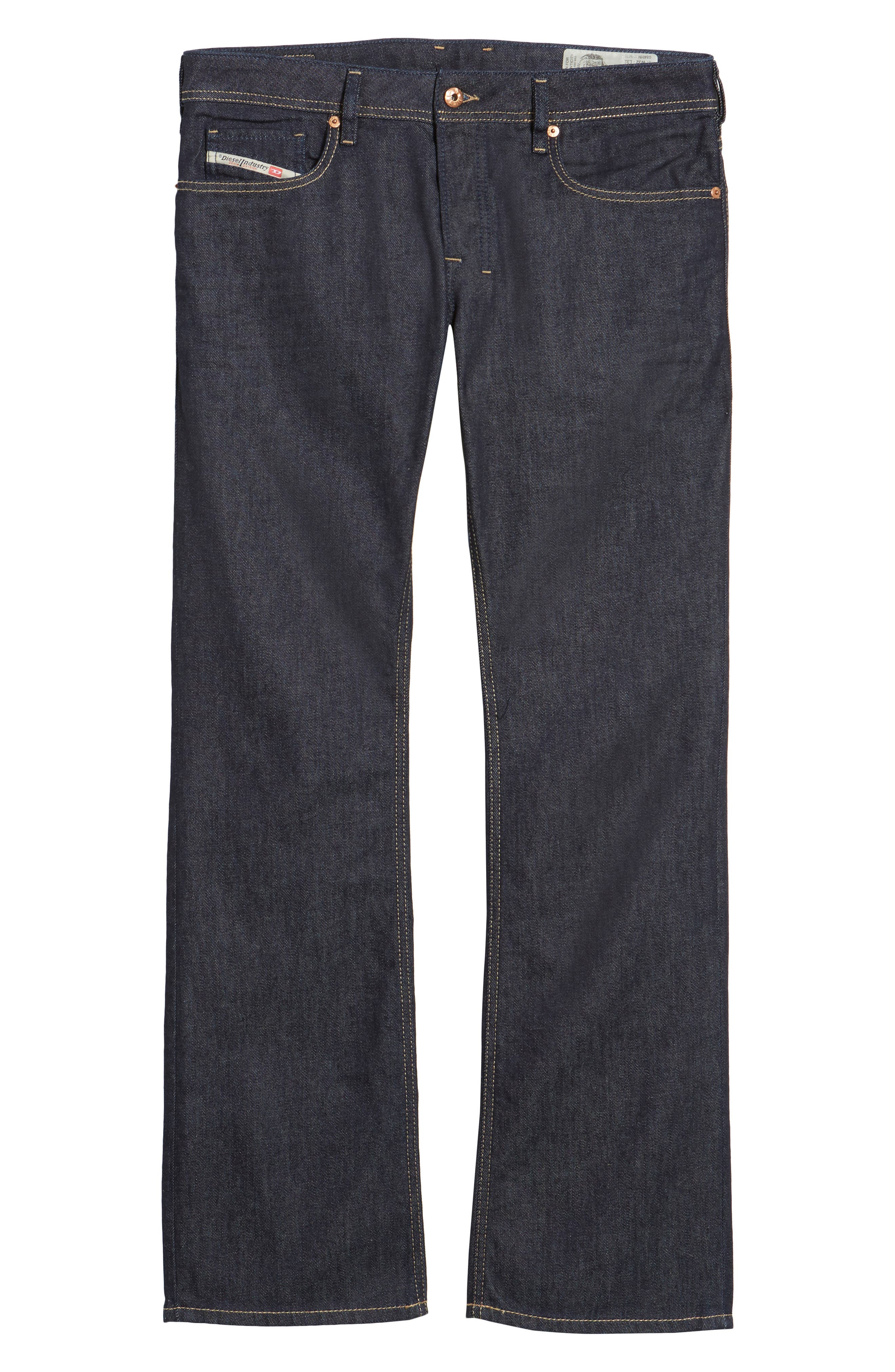 Zatiny Bootcut Jeans,                             Alternate thumbnail 6, color,                             BLUE