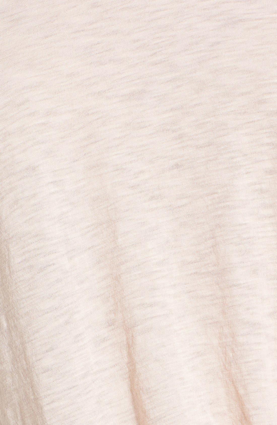 Knot Detail Slub Knit Tee,                             Alternate thumbnail 59, color,