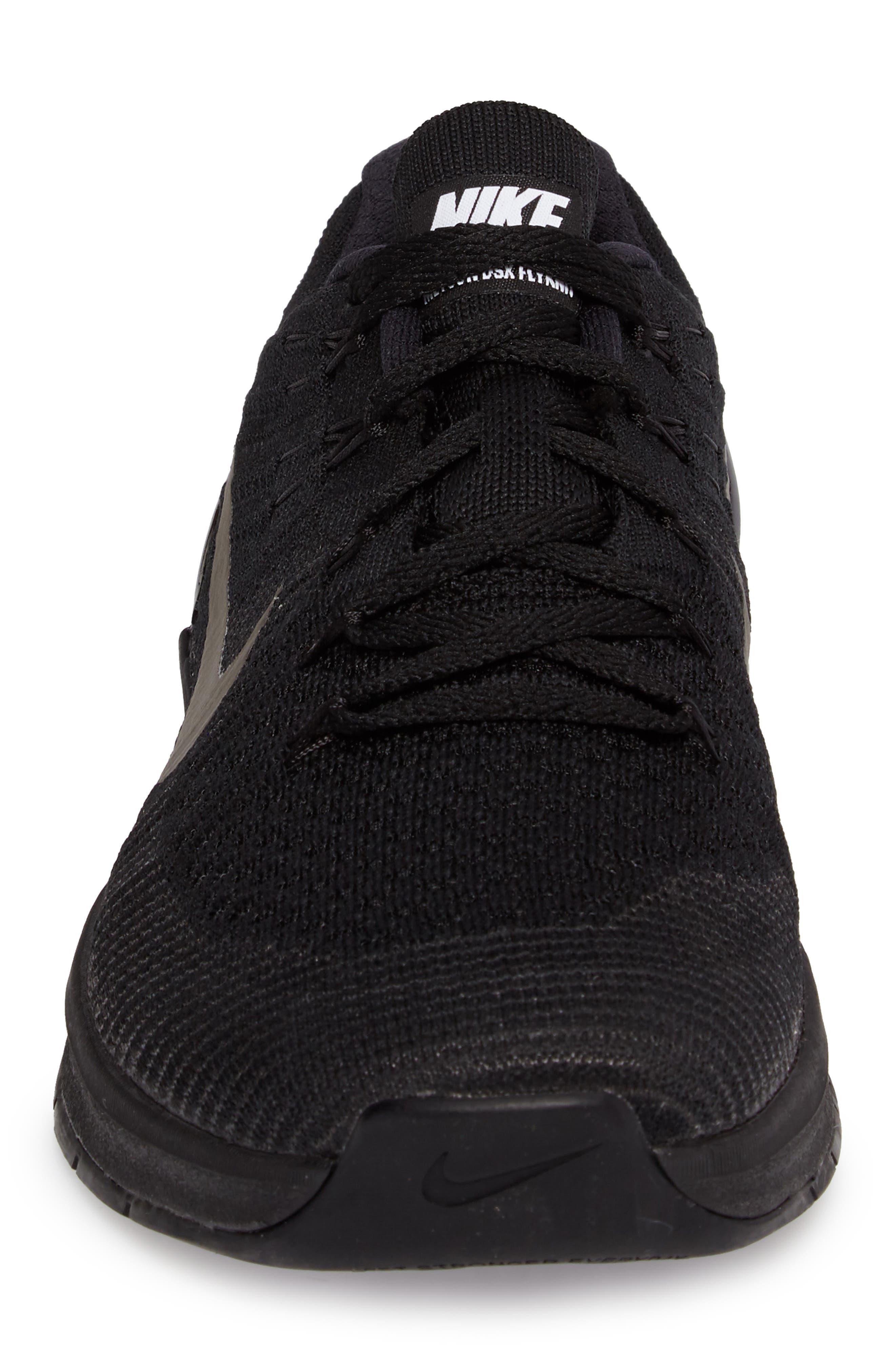 Metcon DSX Flyknit Training Shoe,                             Alternate thumbnail 4, color,                             004