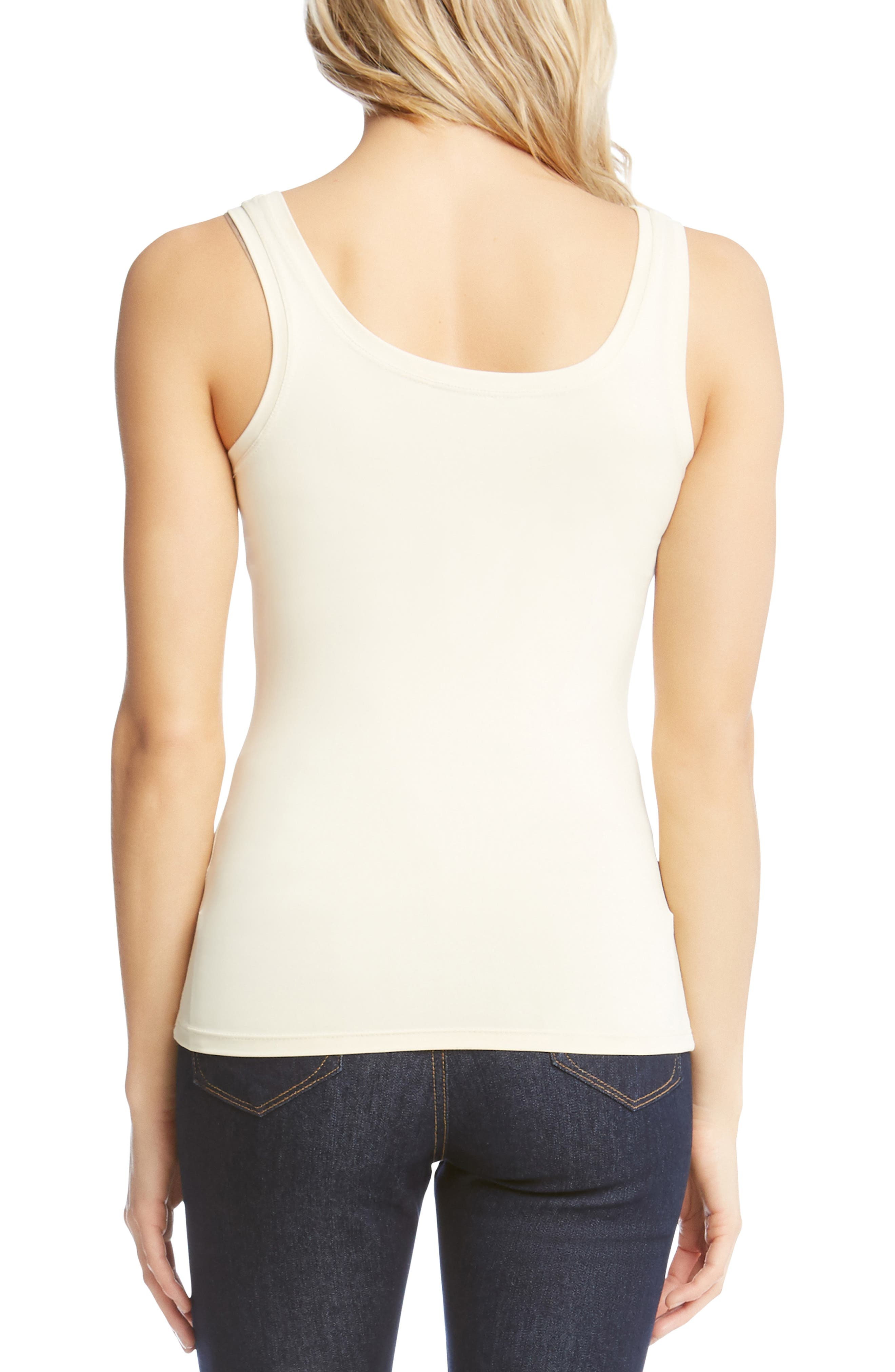 Supersoft Tank,                             Alternate thumbnail 2, color,                             CREAM