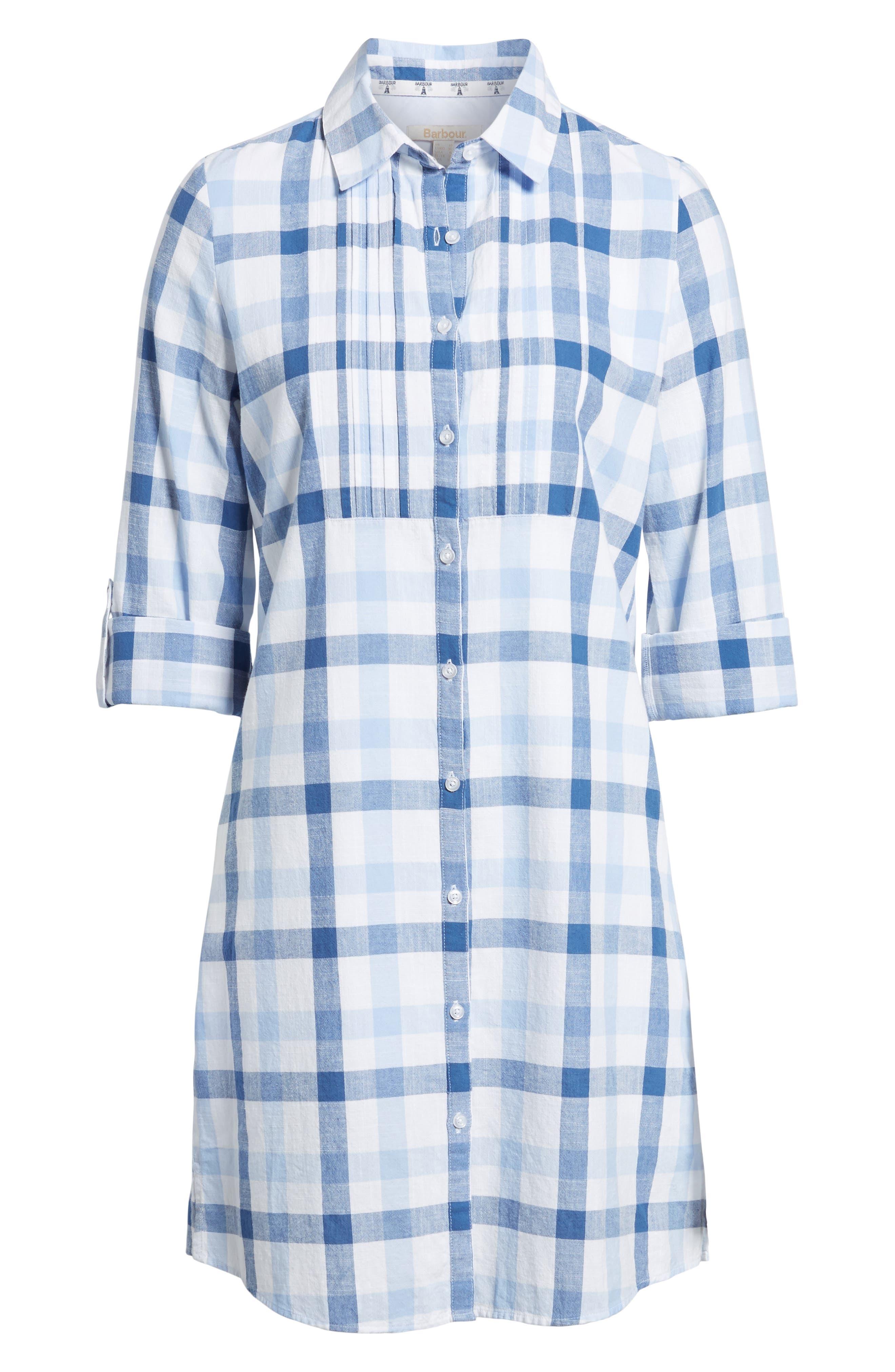 Bamburgh Shirtdress,                             Alternate thumbnail 6, color,                             400