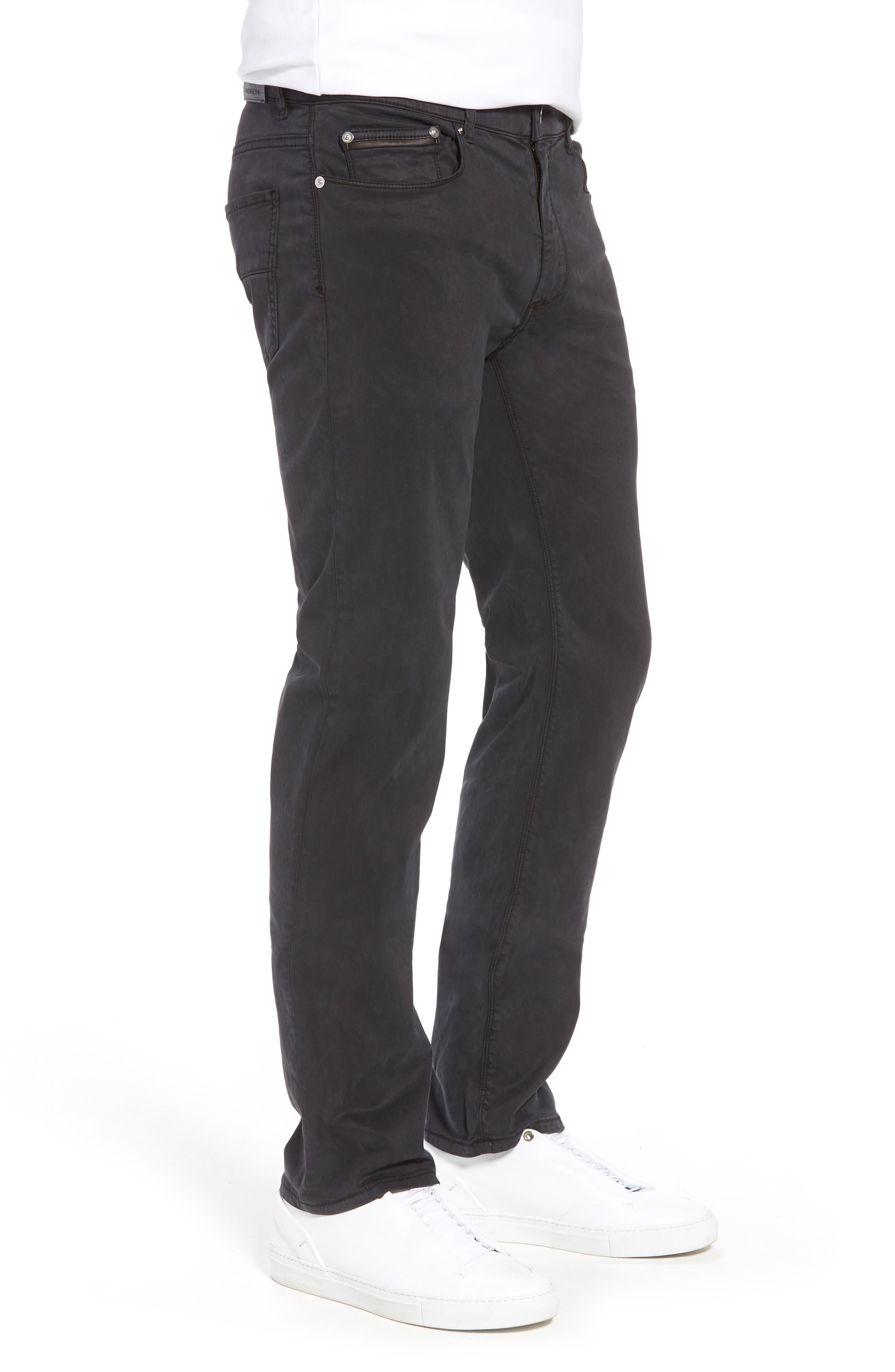 Slim Fit Washed Five-Pocket Pants,                             Alternate thumbnail 9, color,