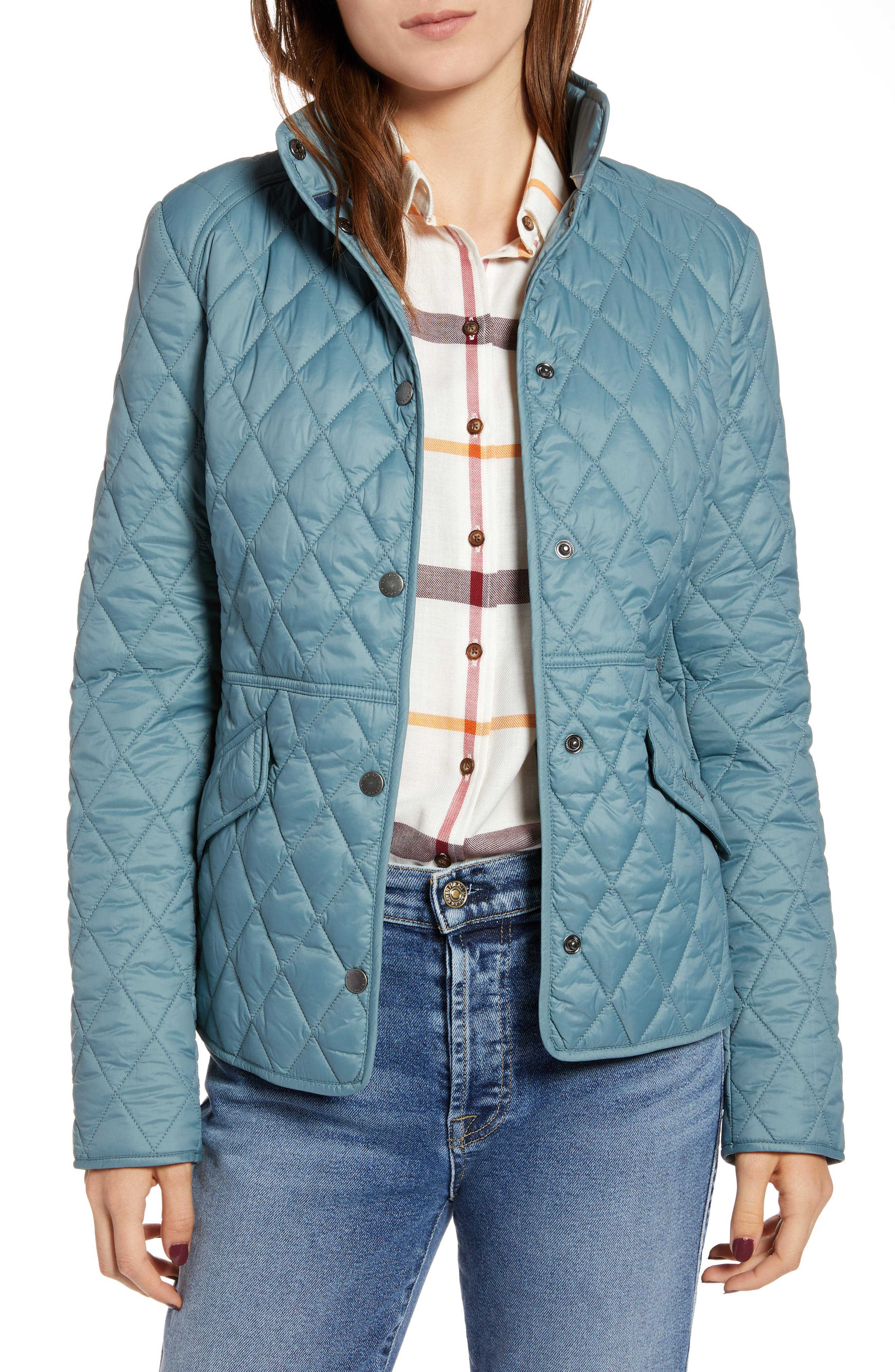 Barbour Annis Quilted Jacket, US / 8 UK - Green