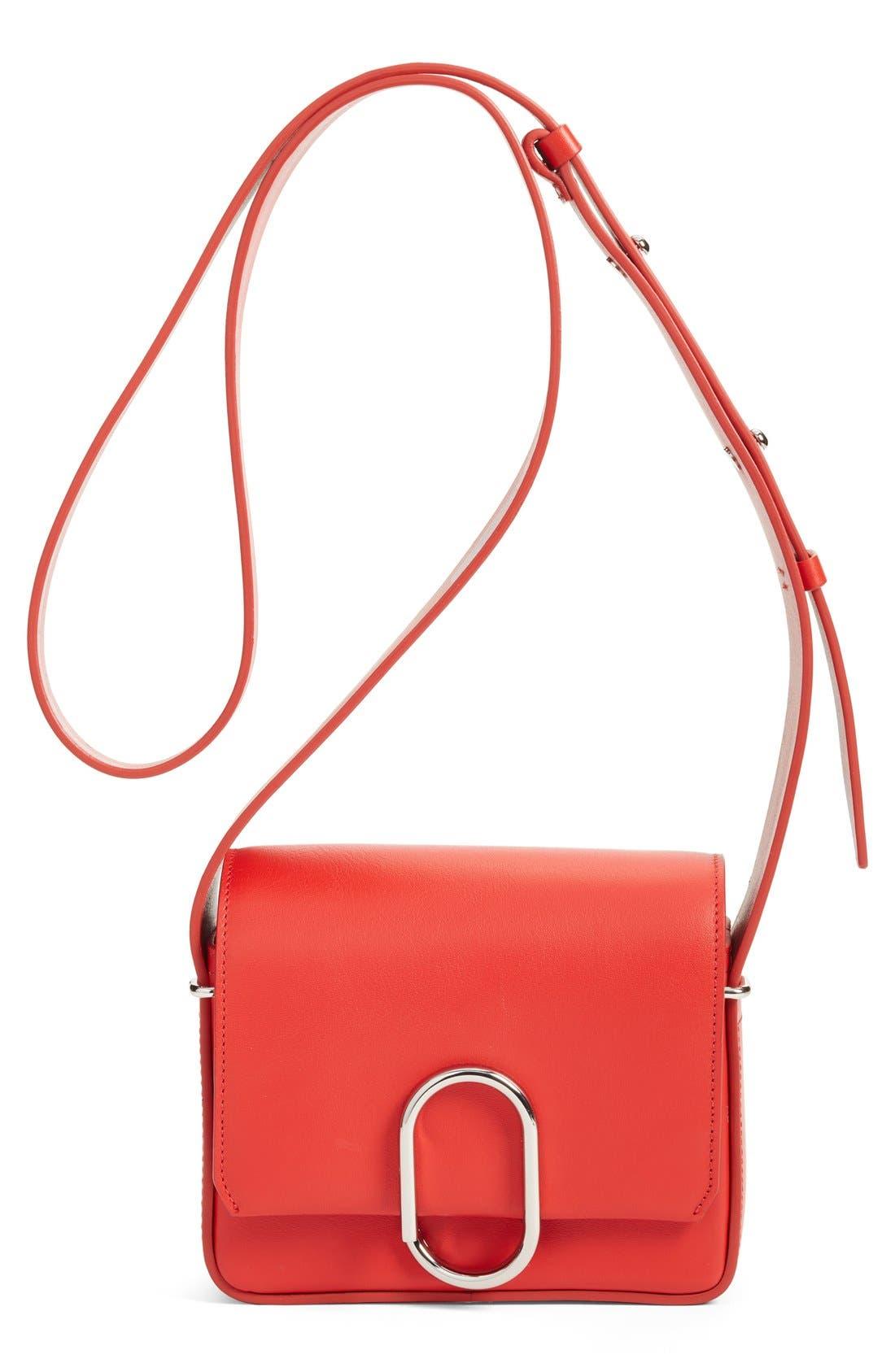 'Mini Alix' Leather Shoulder Bag,                             Main thumbnail 3, color,