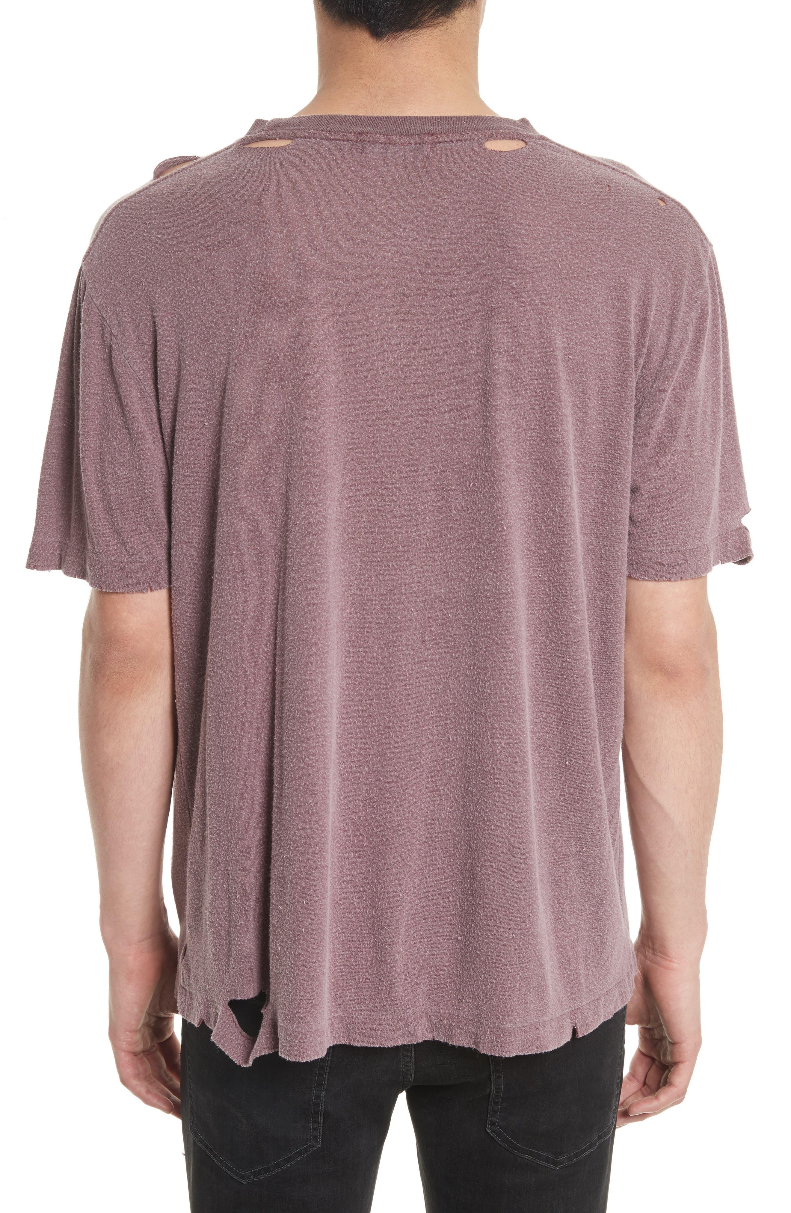 Finnis Destroyed T-Shirt,                             Alternate thumbnail 4, color,