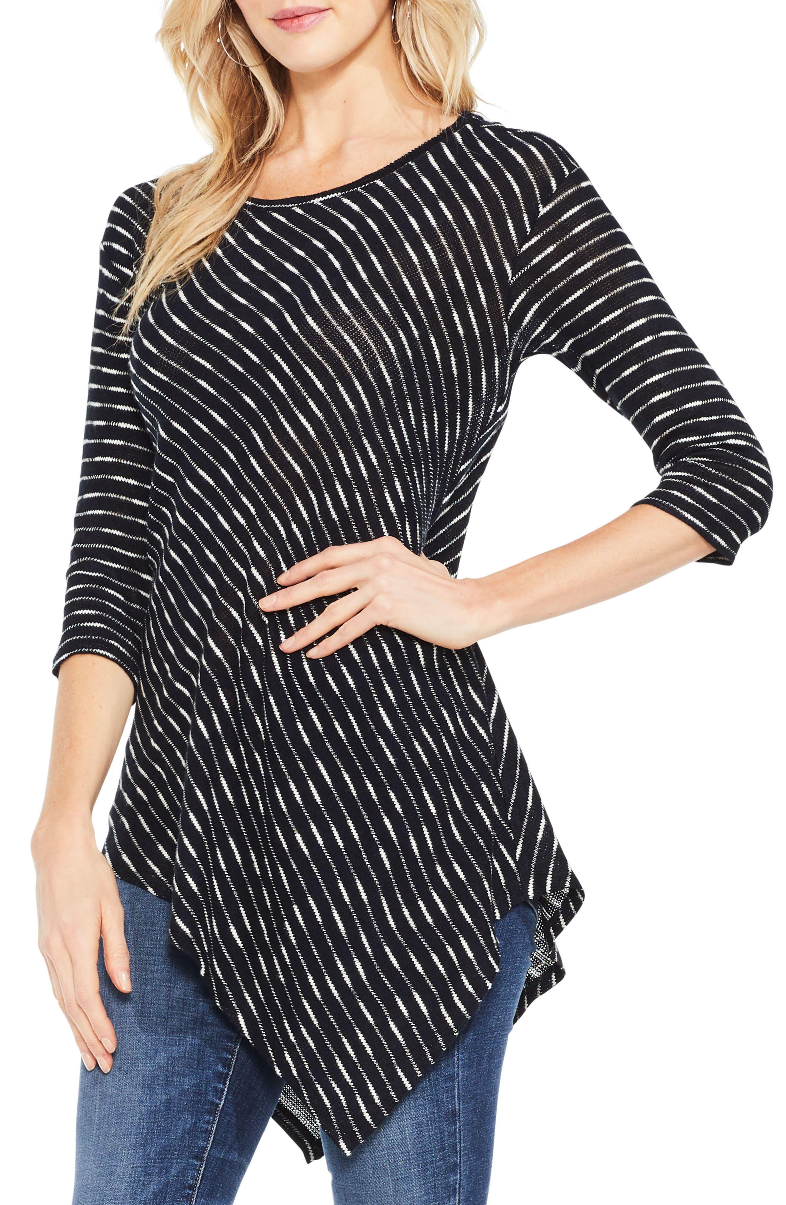 Asymmetrical Stripe Top,                         Main,                         color, 006