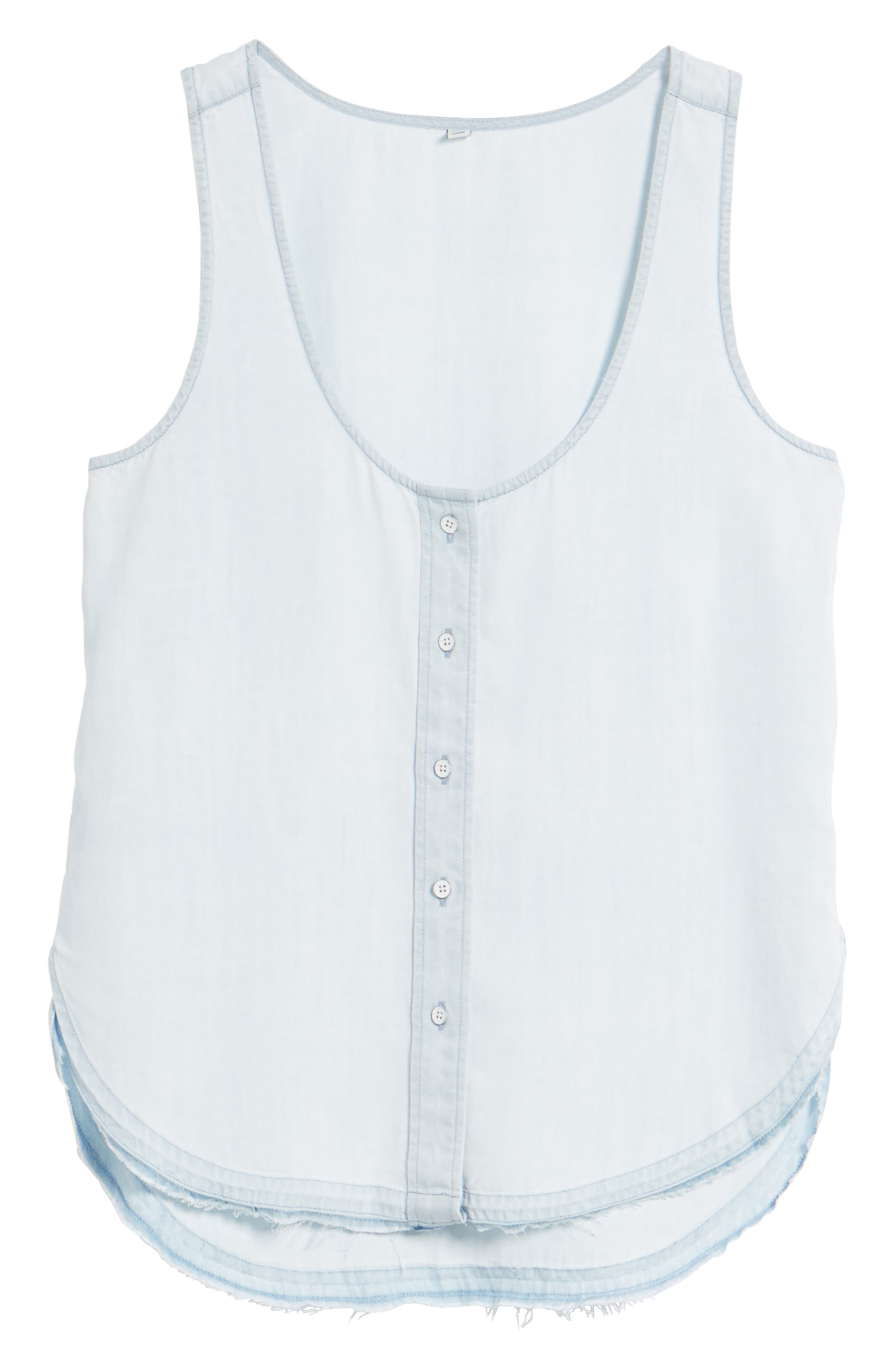 N 6th Berry Chambray Tank,                             Alternate thumbnail 6, color,                             430