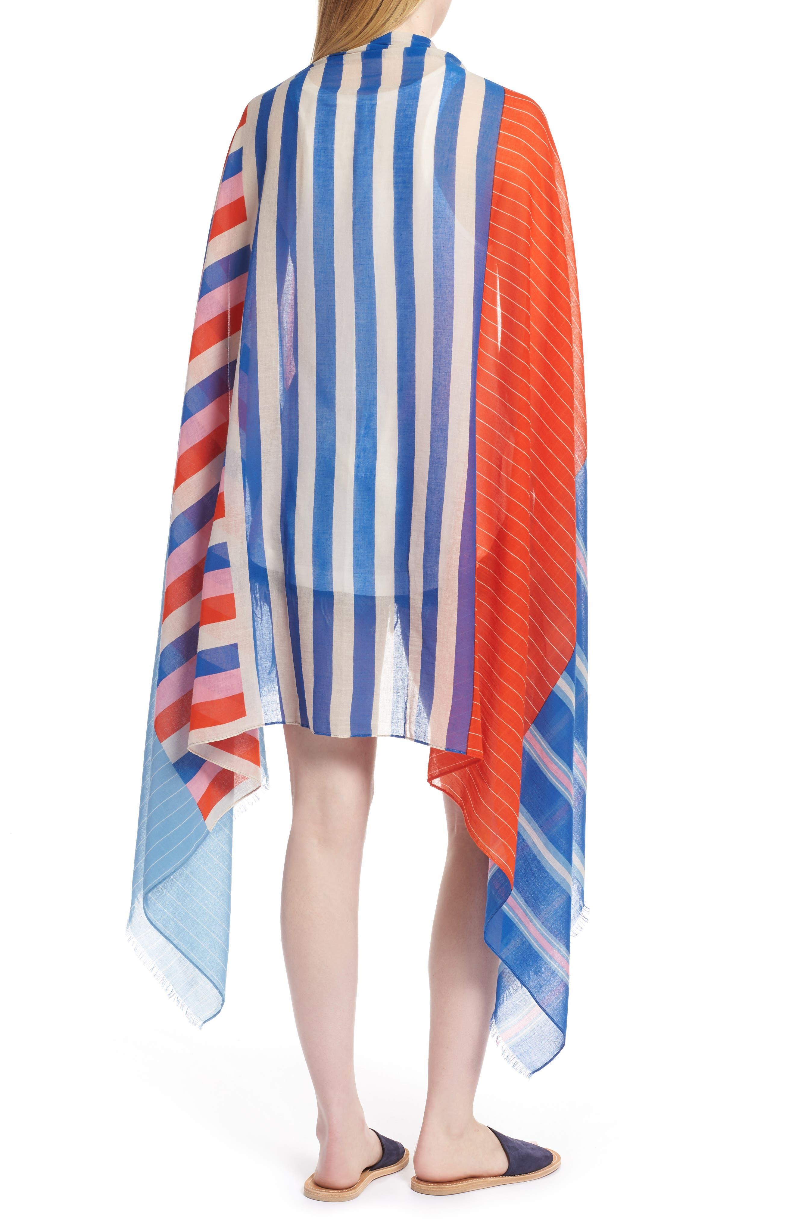 Stripe Sarong,                             Alternate thumbnail 2, color,                             900