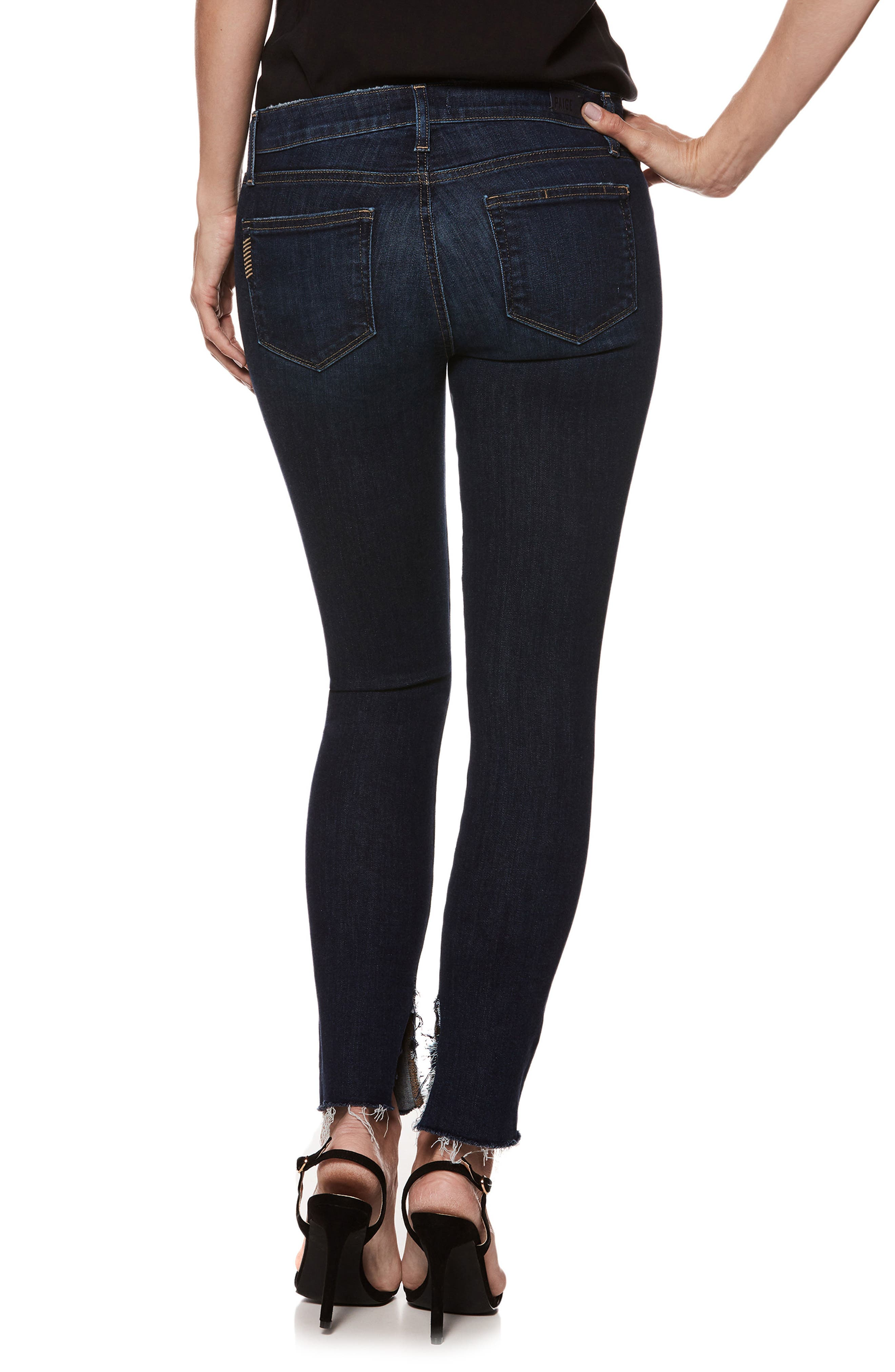 Transcend Vintage - Verdugo Ankle Ultra Skinny Jeans,                             Alternate thumbnail 2, color,                             400