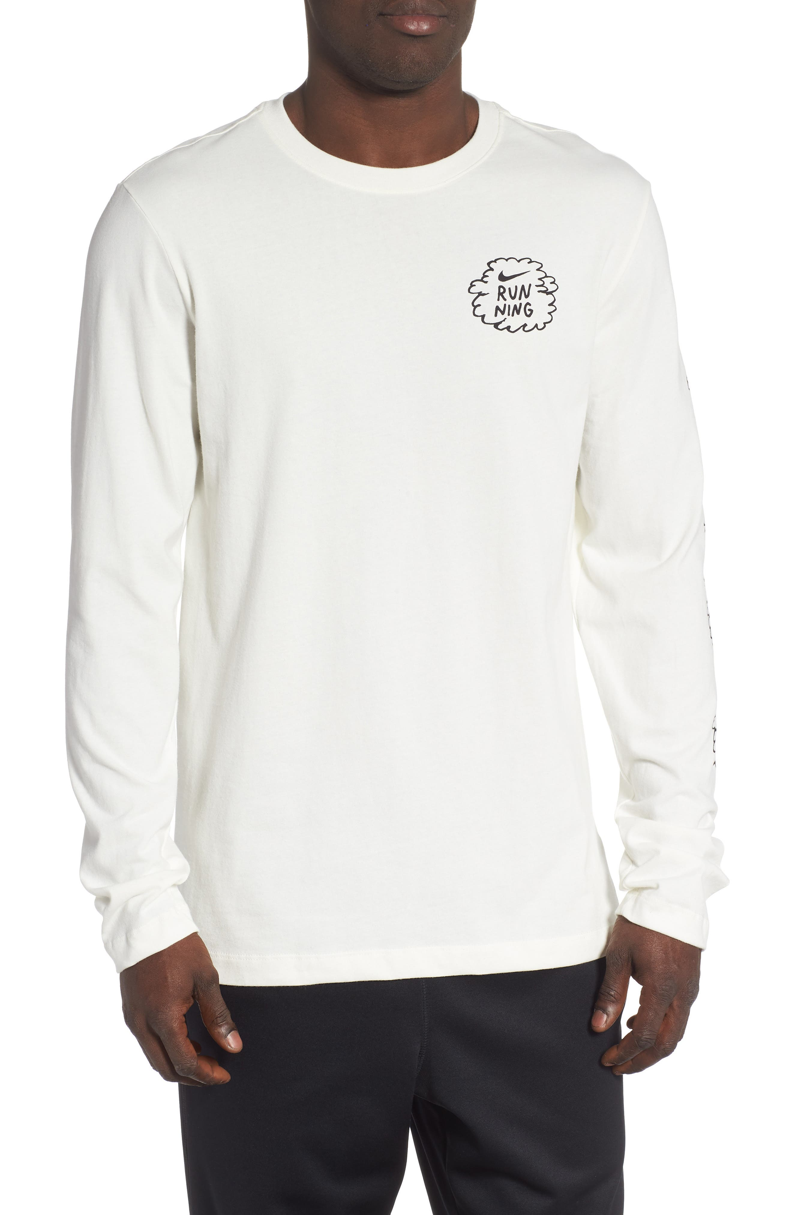 Nike Dry Long Sleeve Running T-Shirt