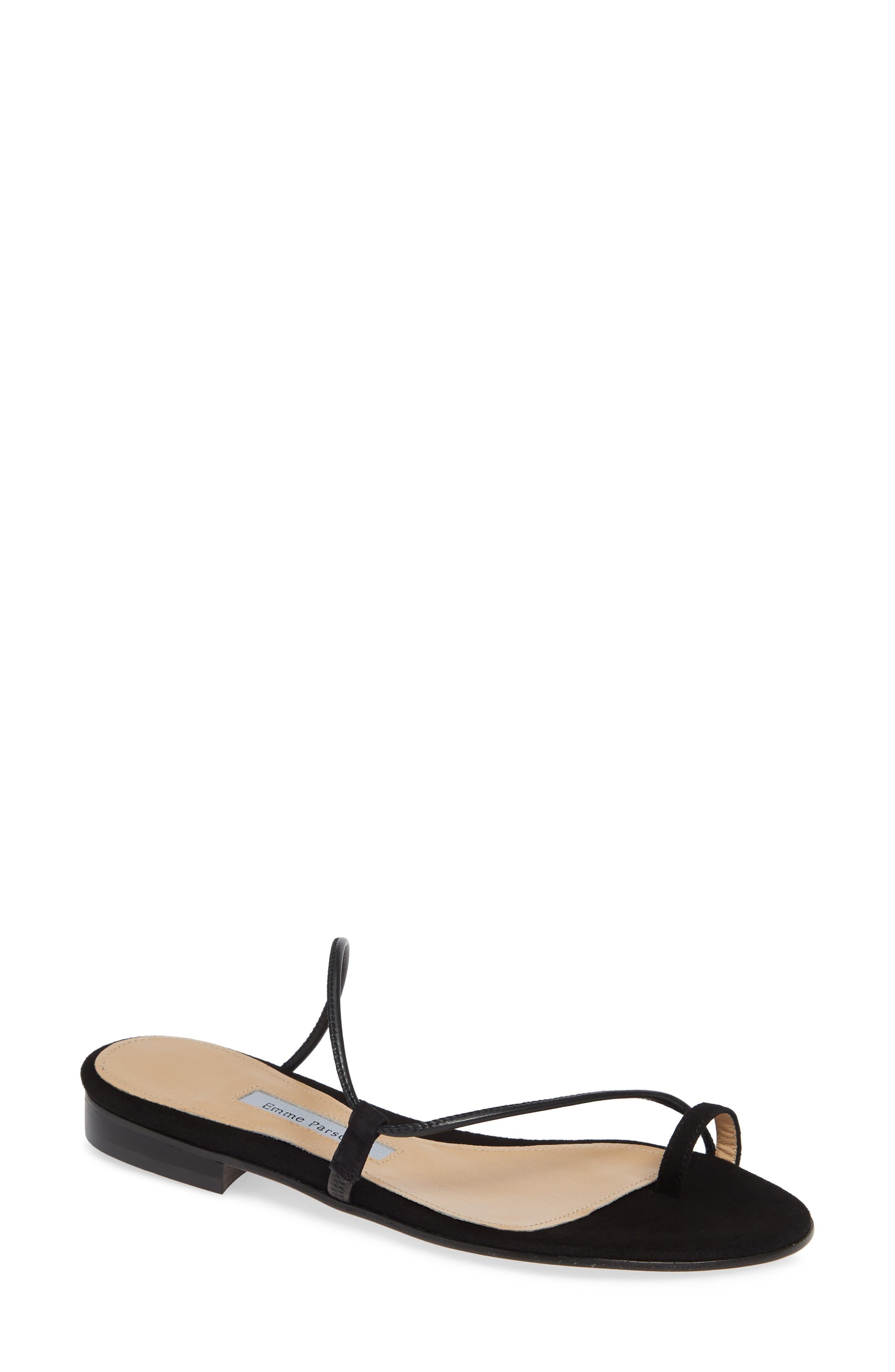 EMME PARSONS Susan Slide Sandal in Black