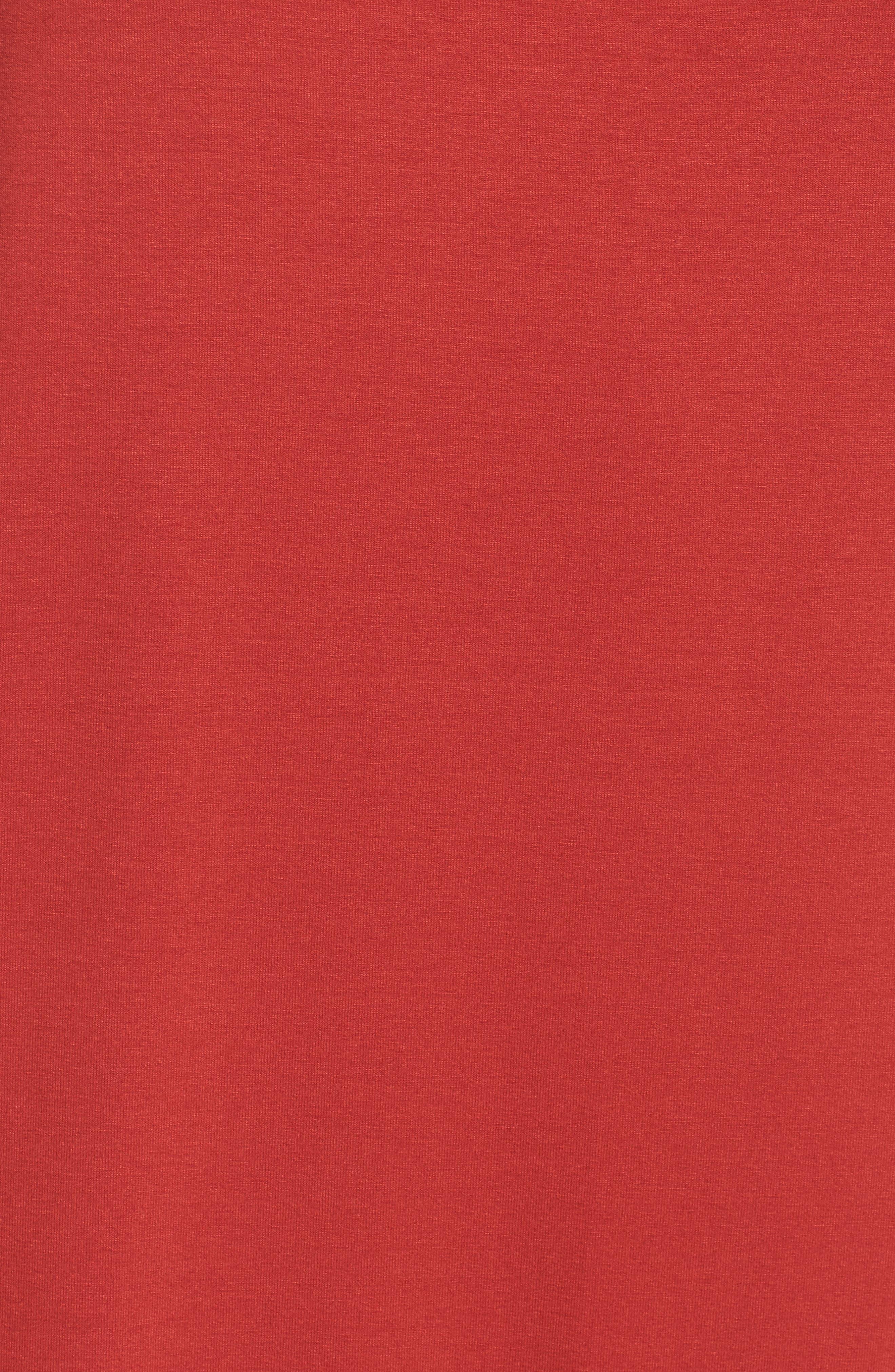 Asymmetrical Jersey Shift Dress,                             Alternate thumbnail 20, color,