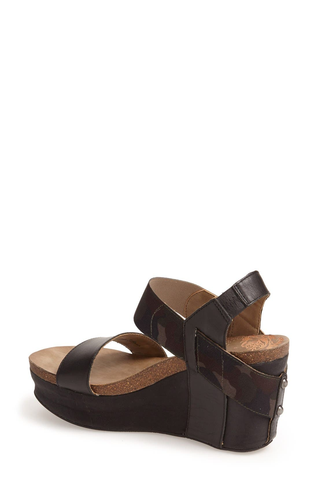 'Bushnell' Wedge Sandal,                             Alternate thumbnail 30, color,