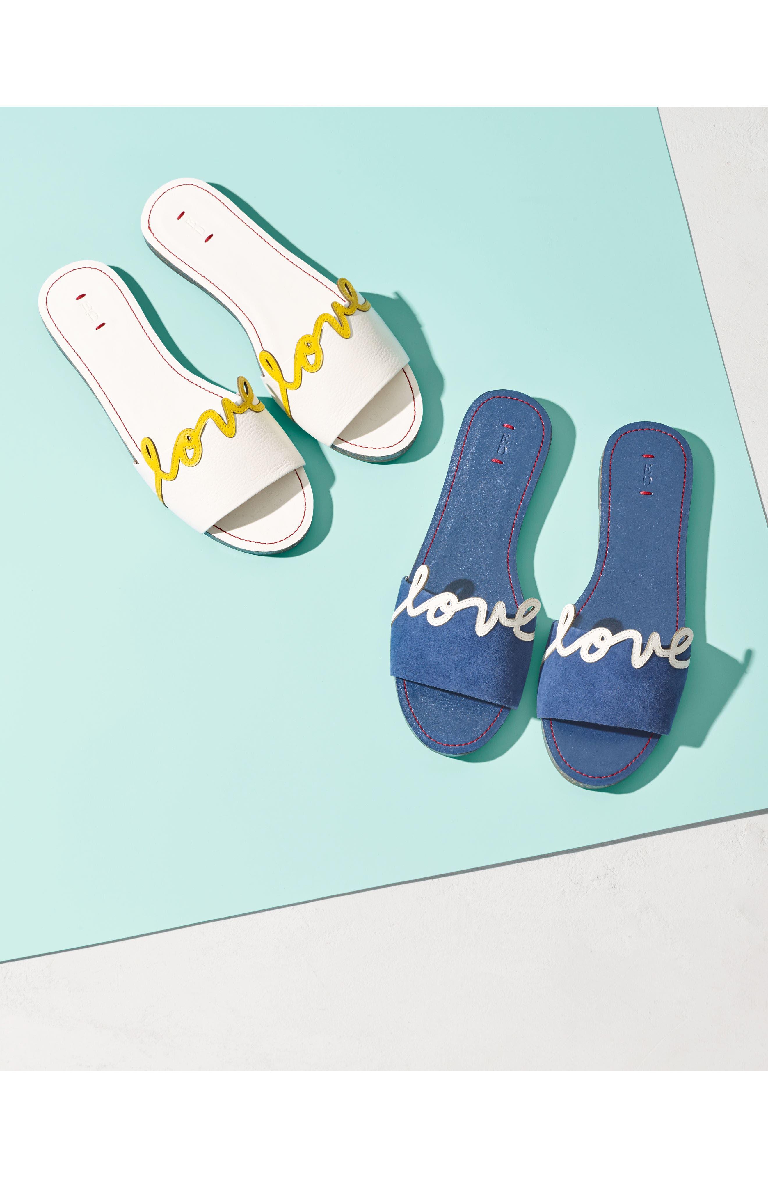 Sharlin Slide Sandal,                             Alternate thumbnail 7, color,                             110