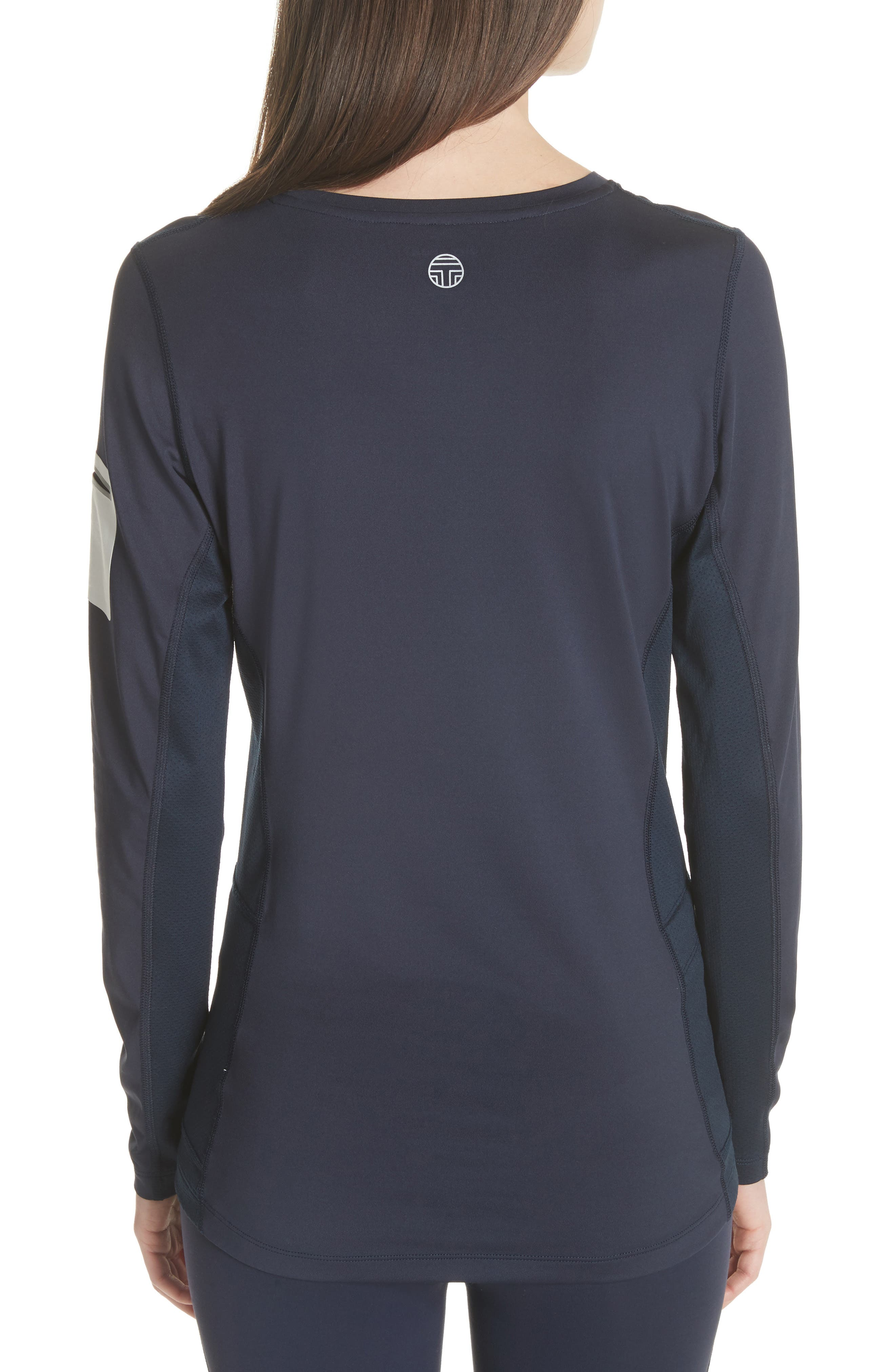 Graphic Performance Top,                             Alternate thumbnail 2, color,                             TORY NAVY
