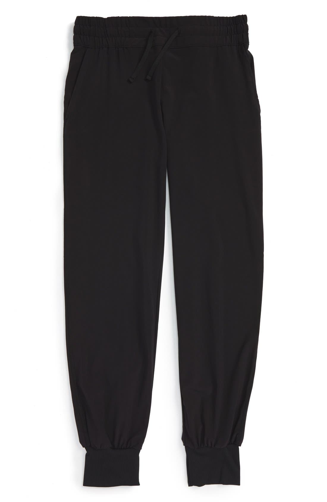 Dance Dance Pants,                             Main thumbnail 1, color,                             BLACK