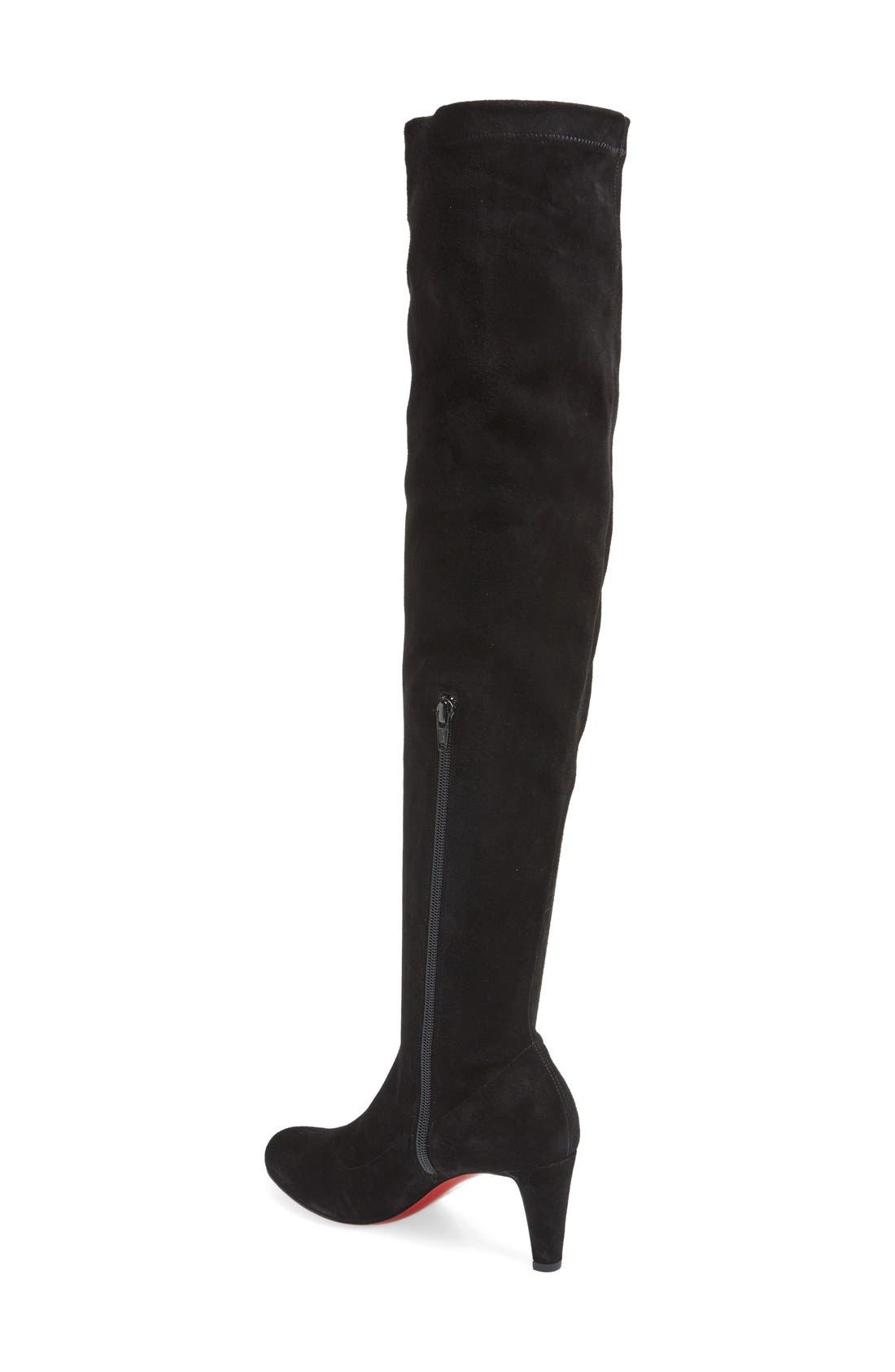 'Alta' Over the Knee Boot,                             Alternate thumbnail 2, color,                             001