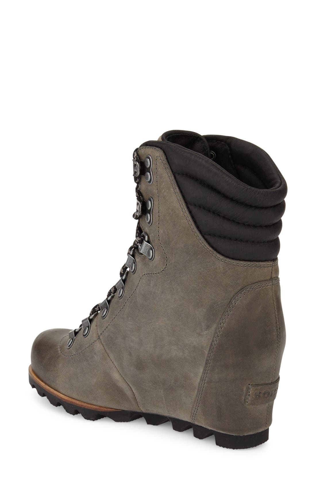 'Conquest' Waterproof Wedge Boot,                             Alternate thumbnail 18, color,