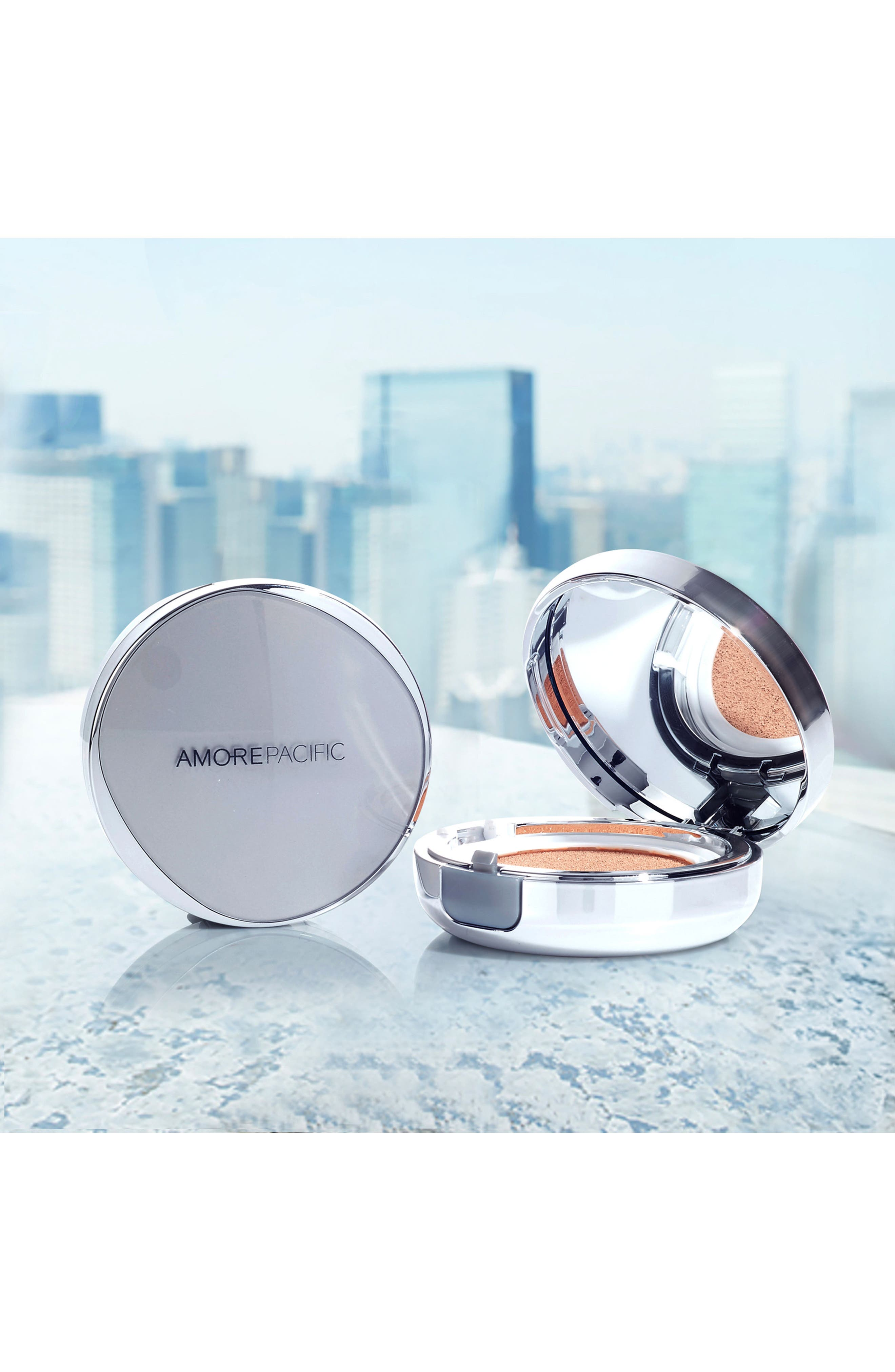 AMOREPACIFIC,                             'Color Control' Cushion Compact Broad Spectrum SPF 50,                             Alternate thumbnail 5, color,                             106 - MEDIUM PINK