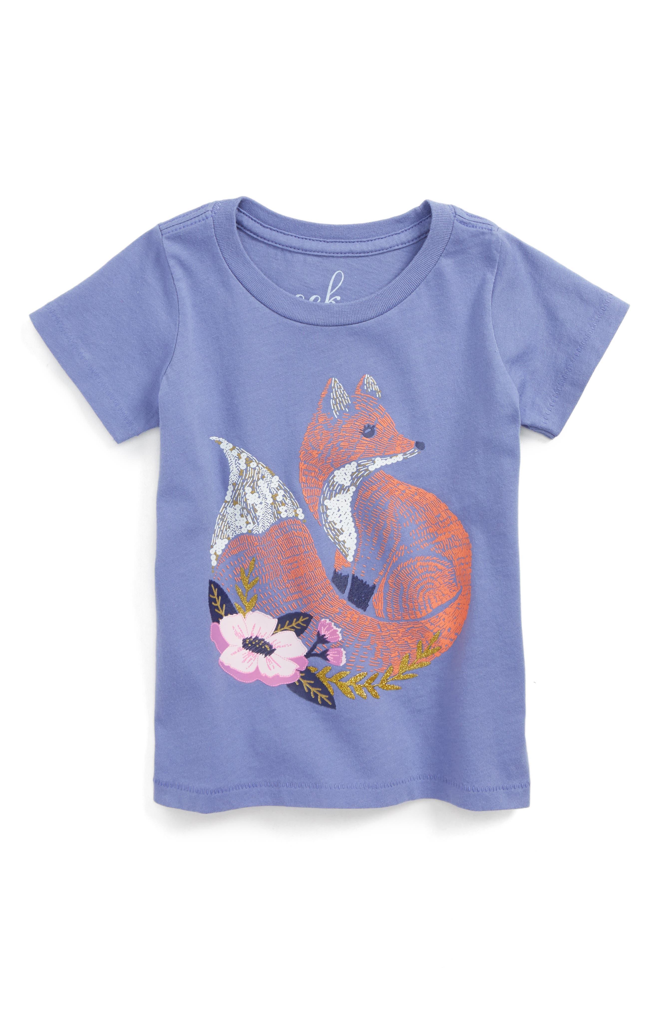 Fox Graphic Tee,                         Main,                         color, 515