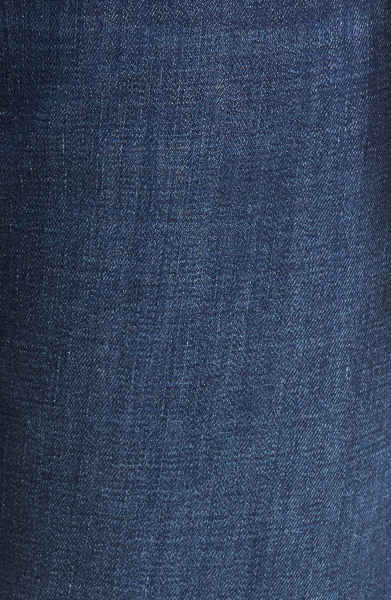 Marcus Slim Straight Leg Jeans,                             Alternate thumbnail 5, color,                             INDIGO PORTLAND