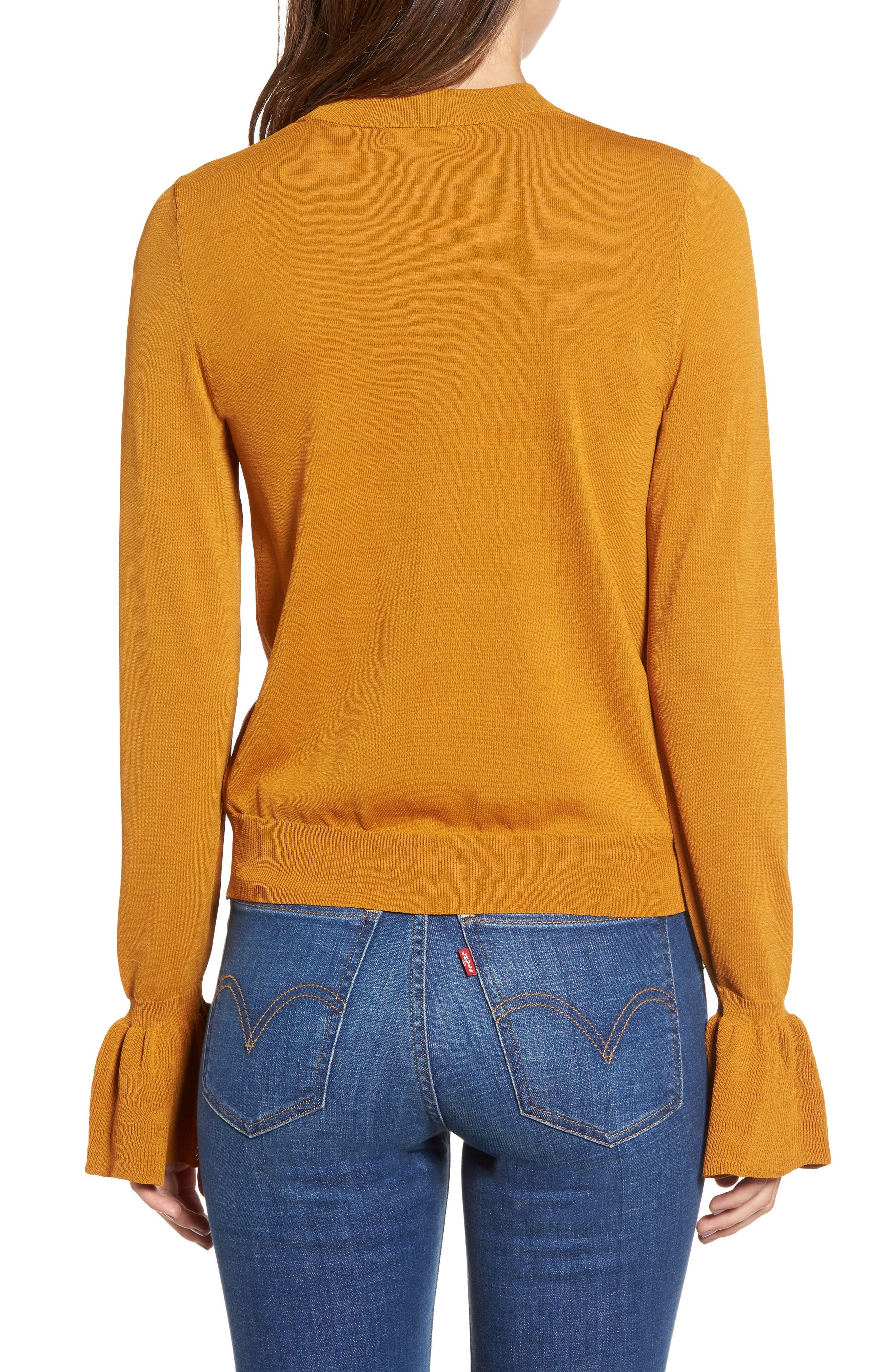 Flare Cuff Sweater,                             Alternate thumbnail 2, color,                             230