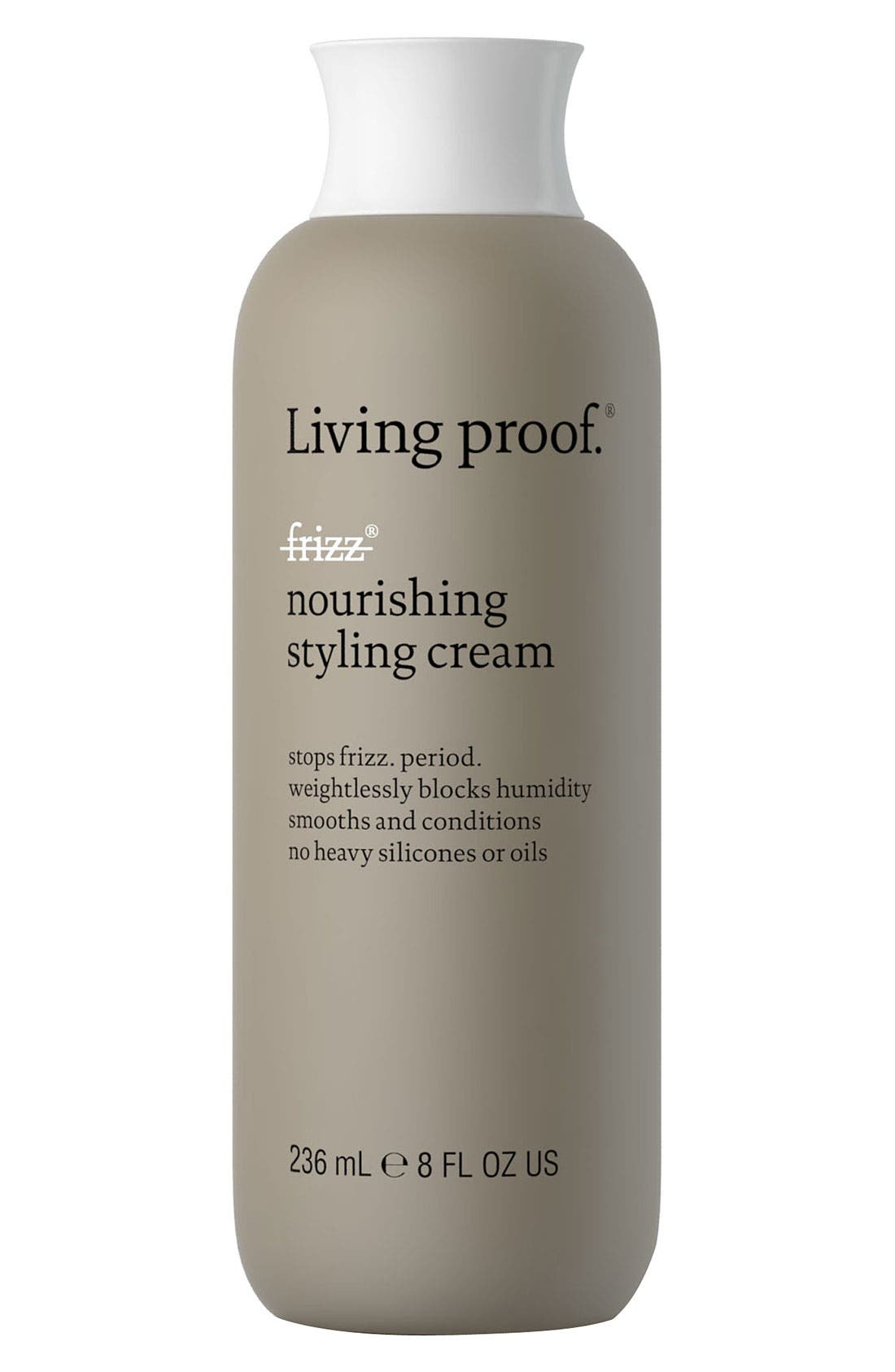 No Frizz Nourishing Styling Cream,                             Main thumbnail 1, color,                             NO COLOR