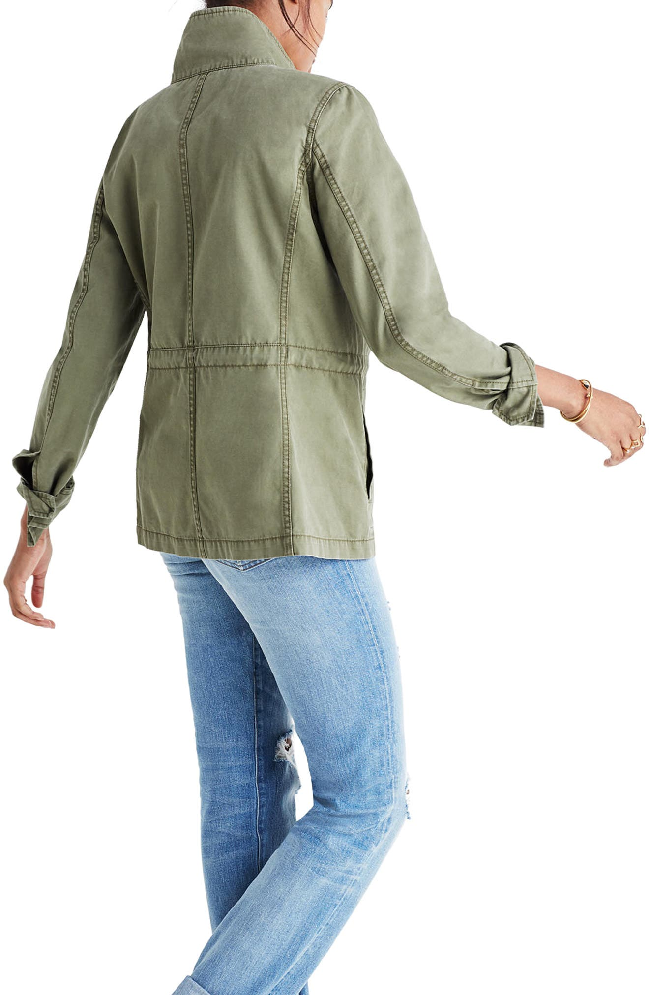 Fleet Jacket,                             Alternate thumbnail 2, color,                             DESERT OLIVE