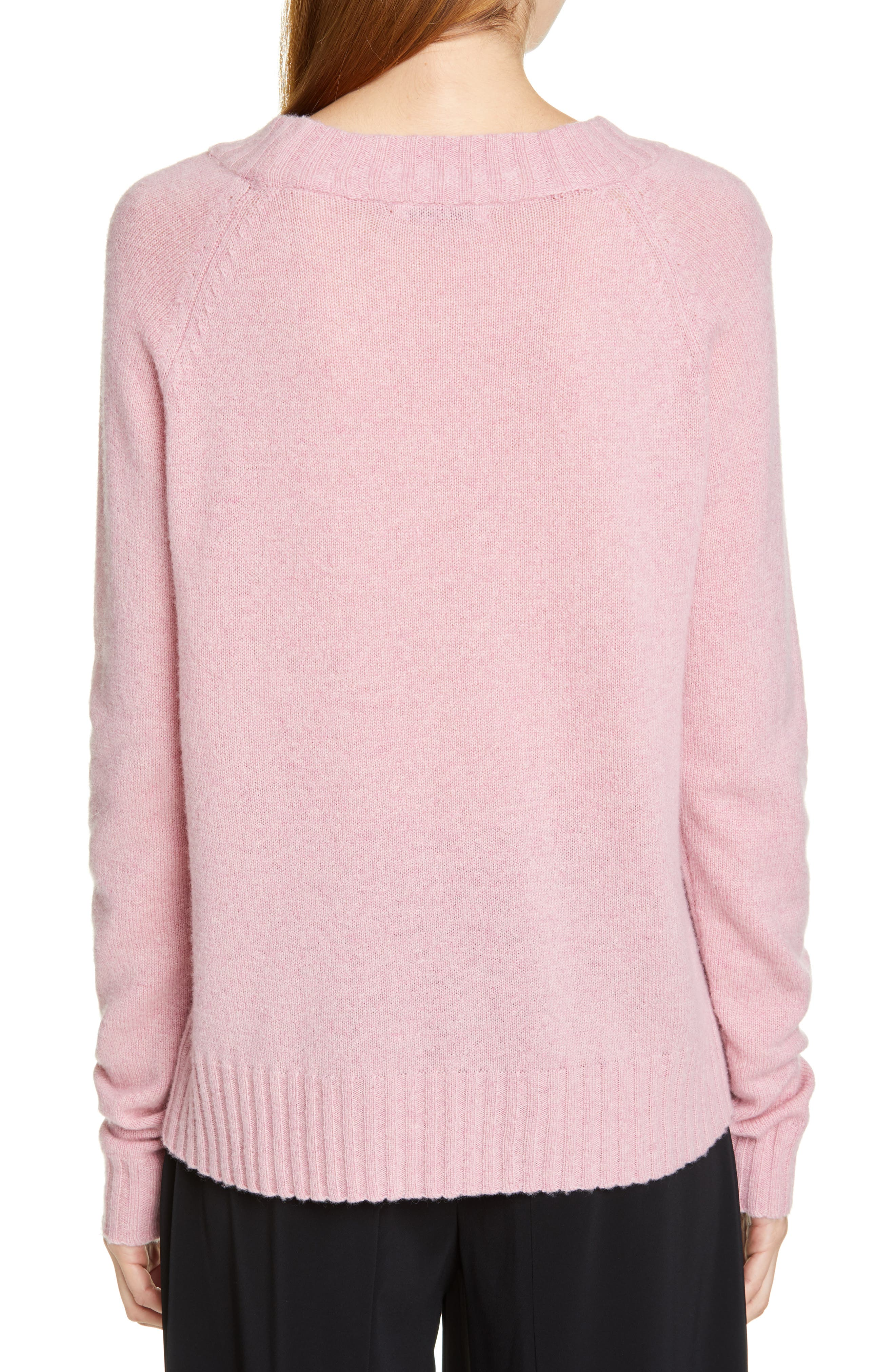 Cashmere Sweater,                             Alternate thumbnail 2, color,                             PINK
