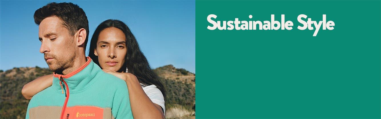 Sustainable style.