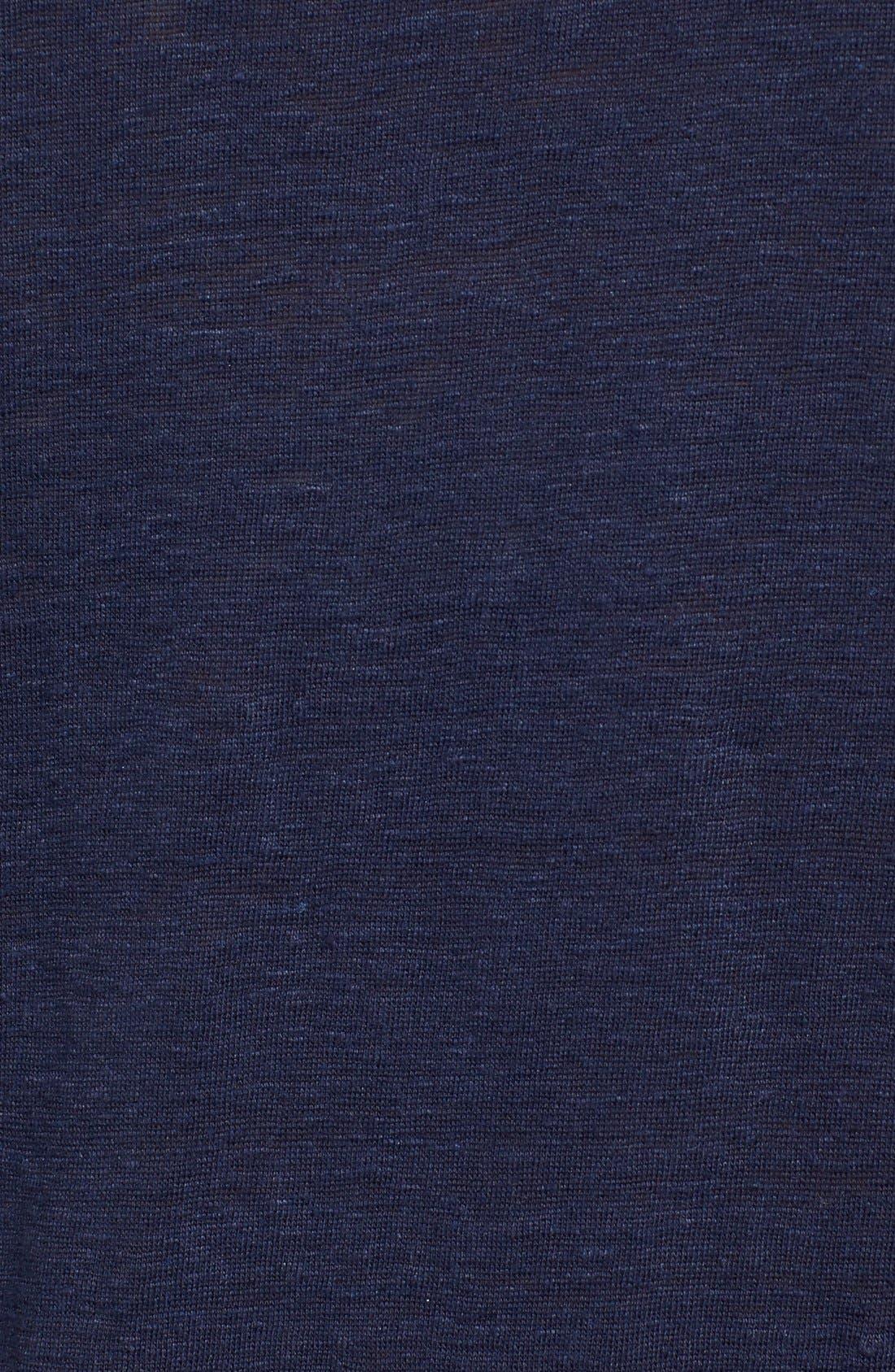 Bateau Neck Organic Linen Tunic,                             Alternate thumbnail 49, color,