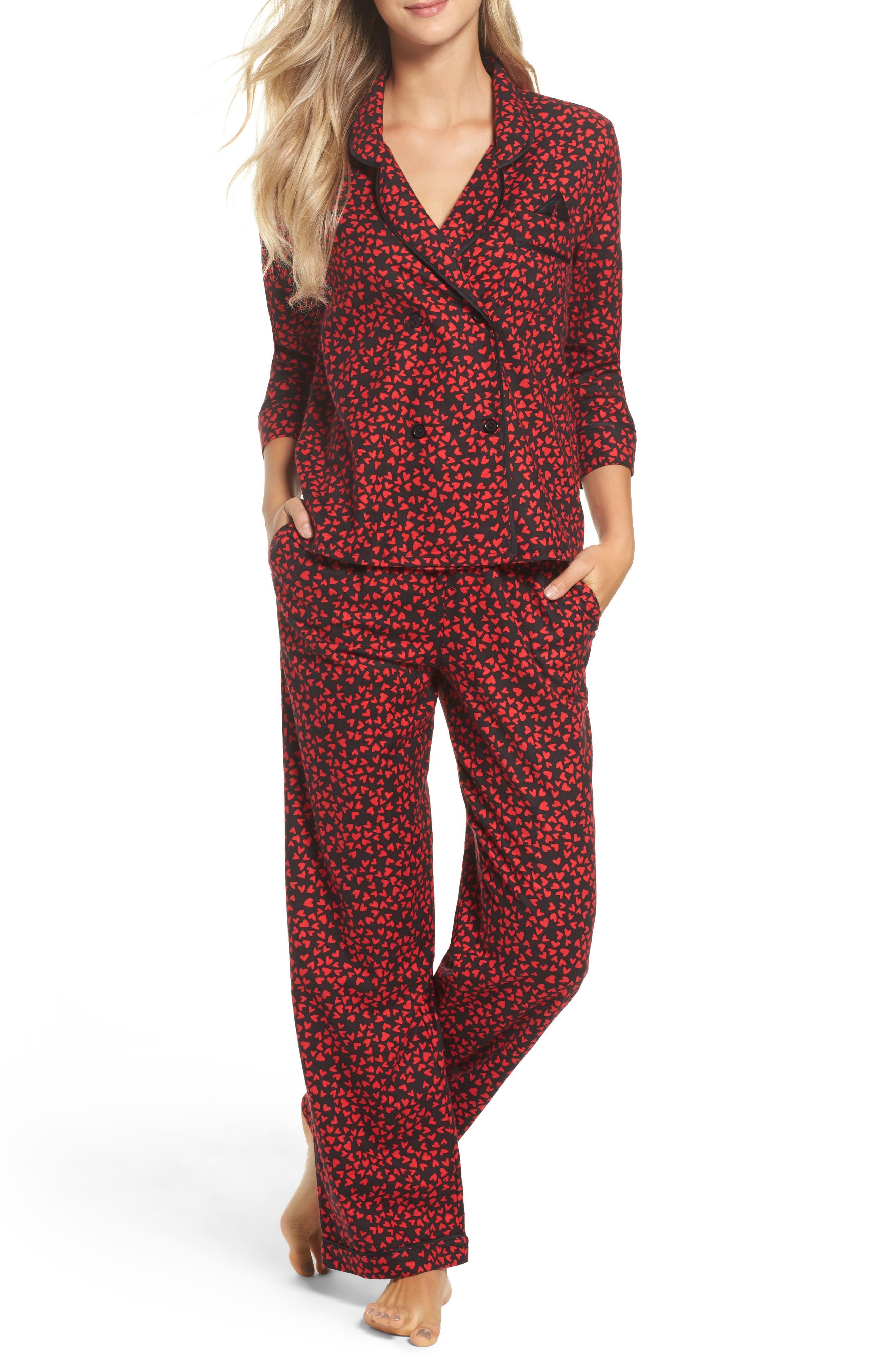Flannel Pajamas,                             Main thumbnail 3, color,