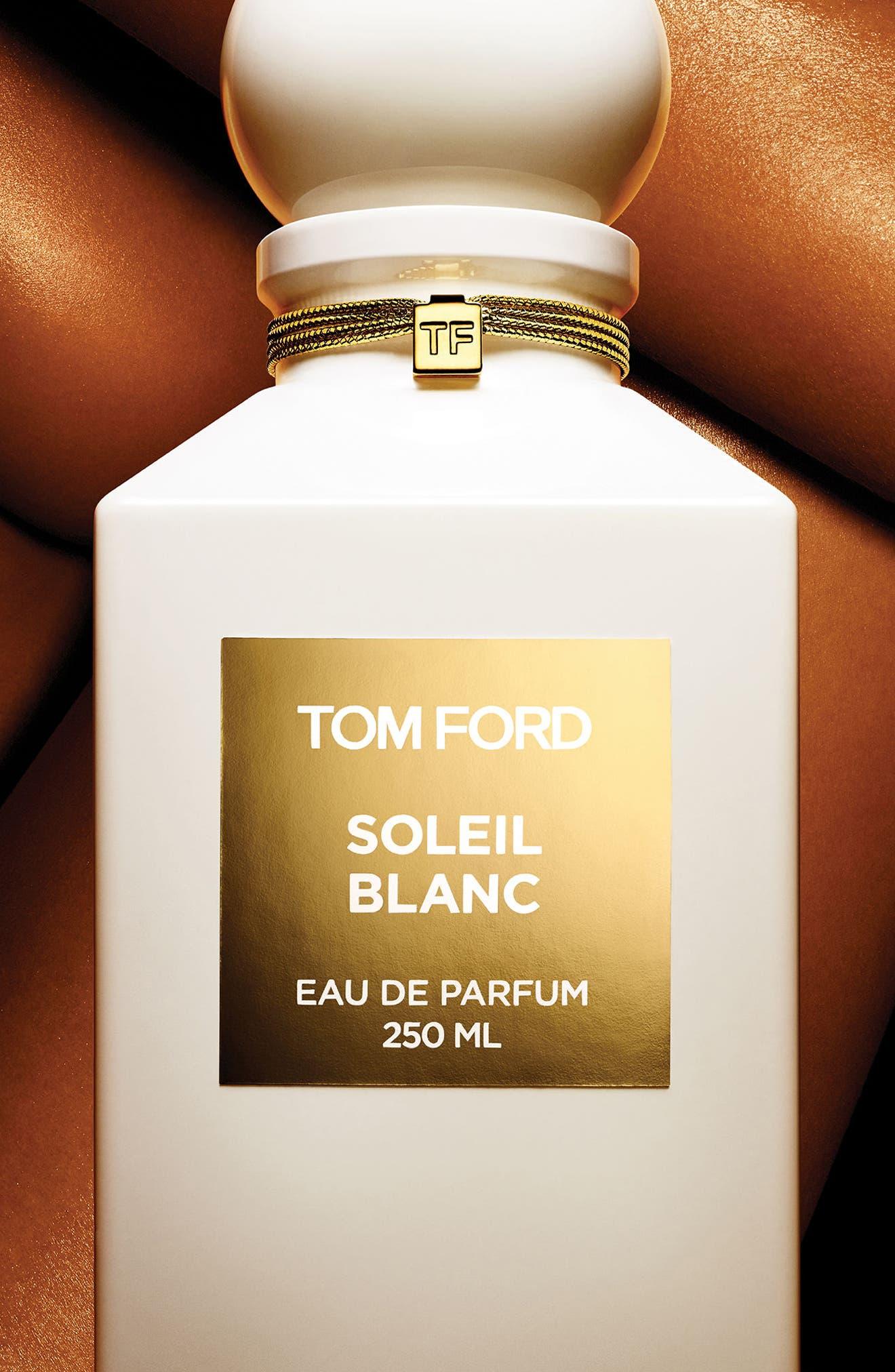 Private Blend Soleil Blanc Eau de Parfum Decanter,                             Alternate thumbnail 5, color,                             NO COLOR