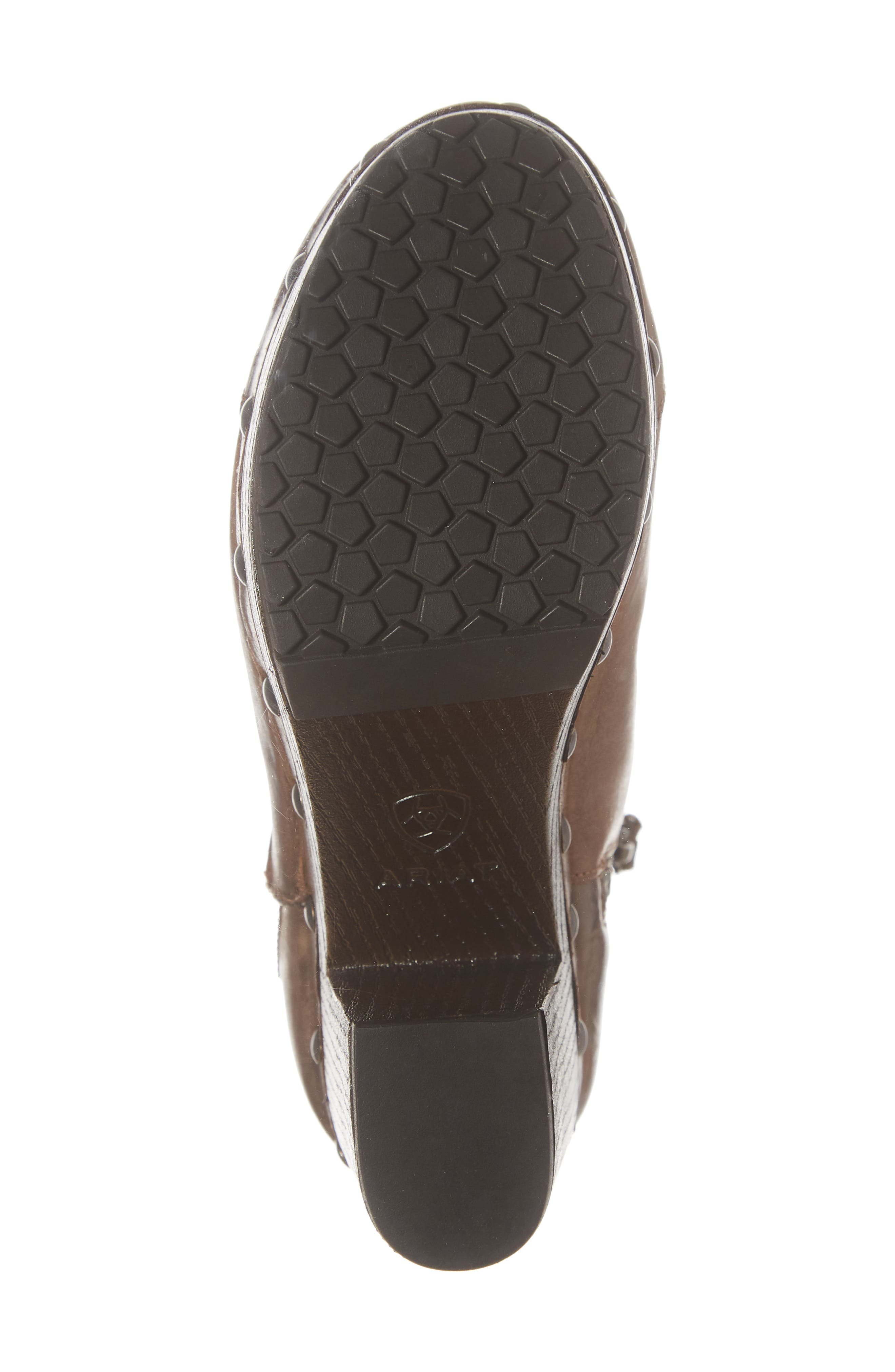 Music City Bootie,                             Alternate thumbnail 6, color,                             CRACKLED TAN LEATHER
