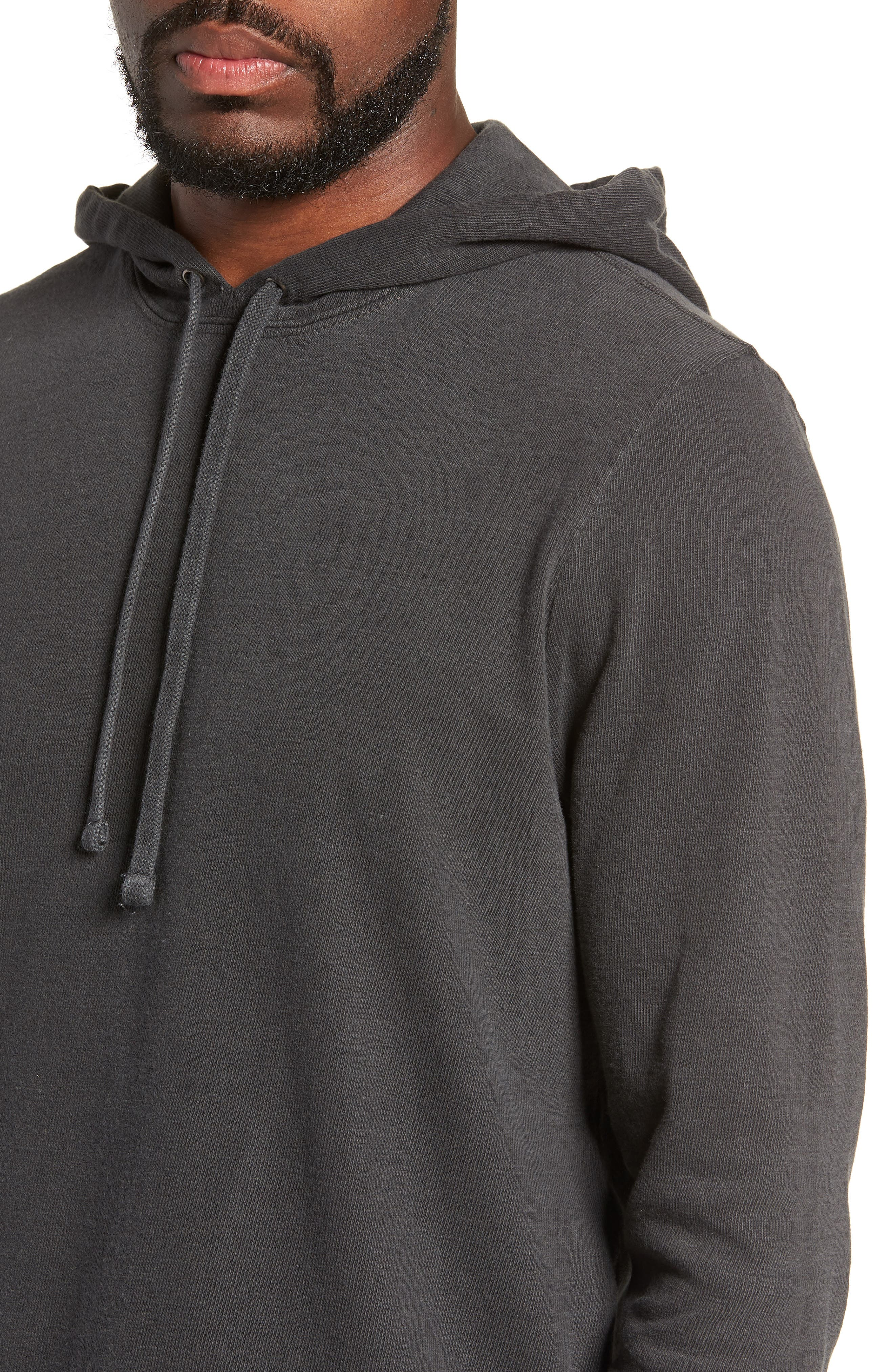 Standard Fit Pullover Hoodie,                             Alternate thumbnail 4, color,                             020