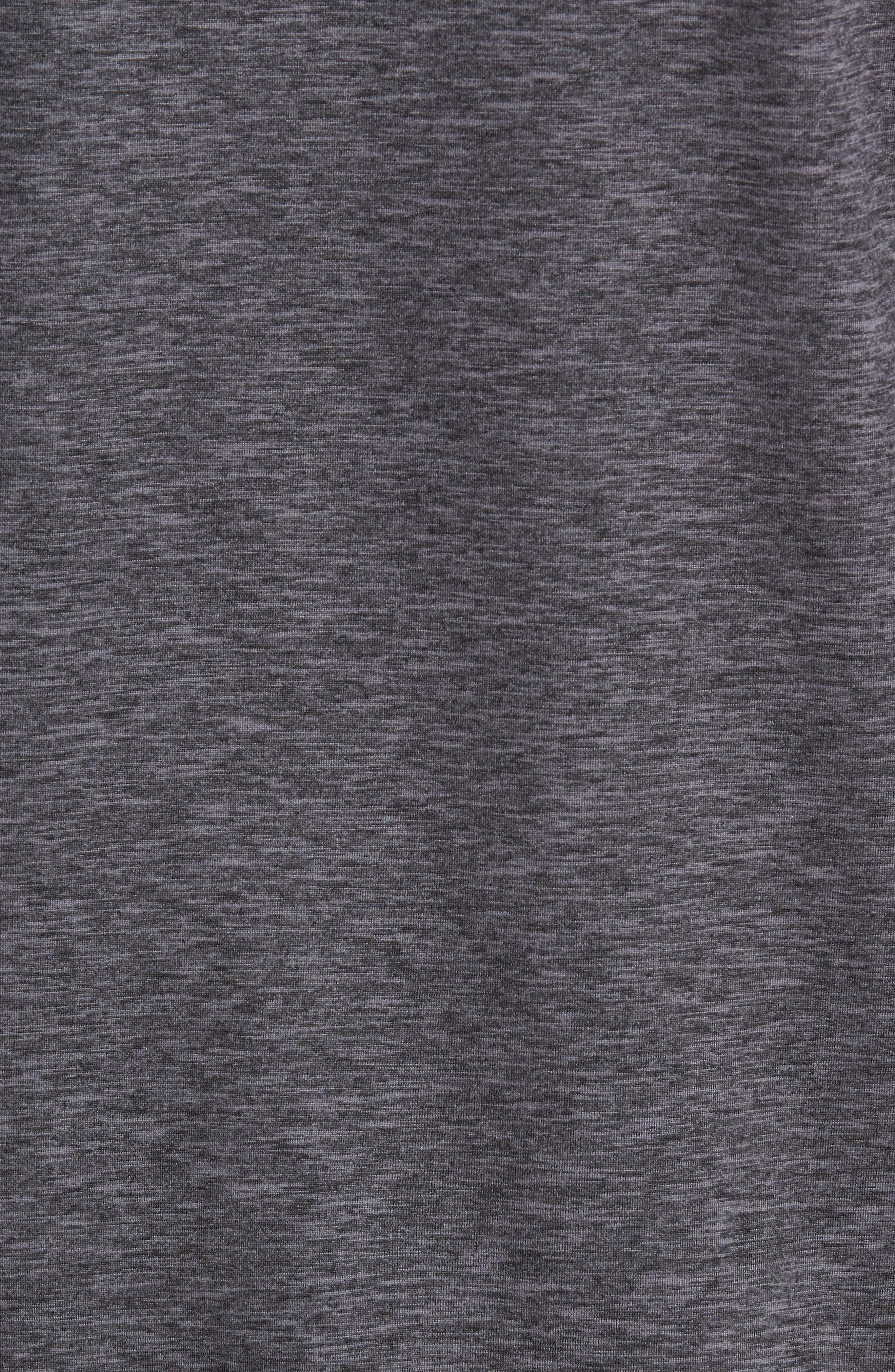 Bornite Pullover Hoodie,                             Alternate thumbnail 5, color,                             BLACK OXIDE MELANGE