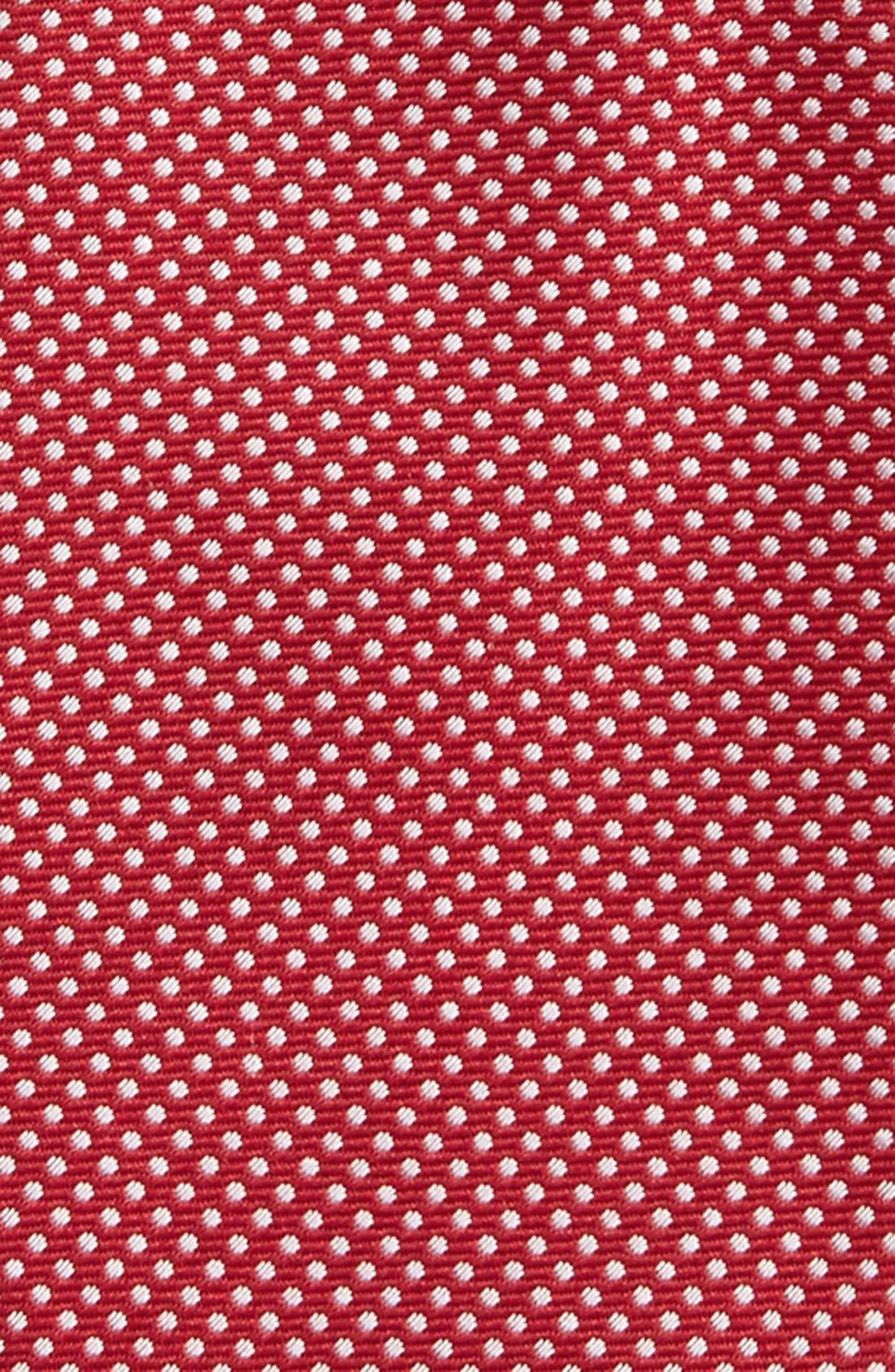Dot Silk Bow Tie,                             Alternate thumbnail 28, color,