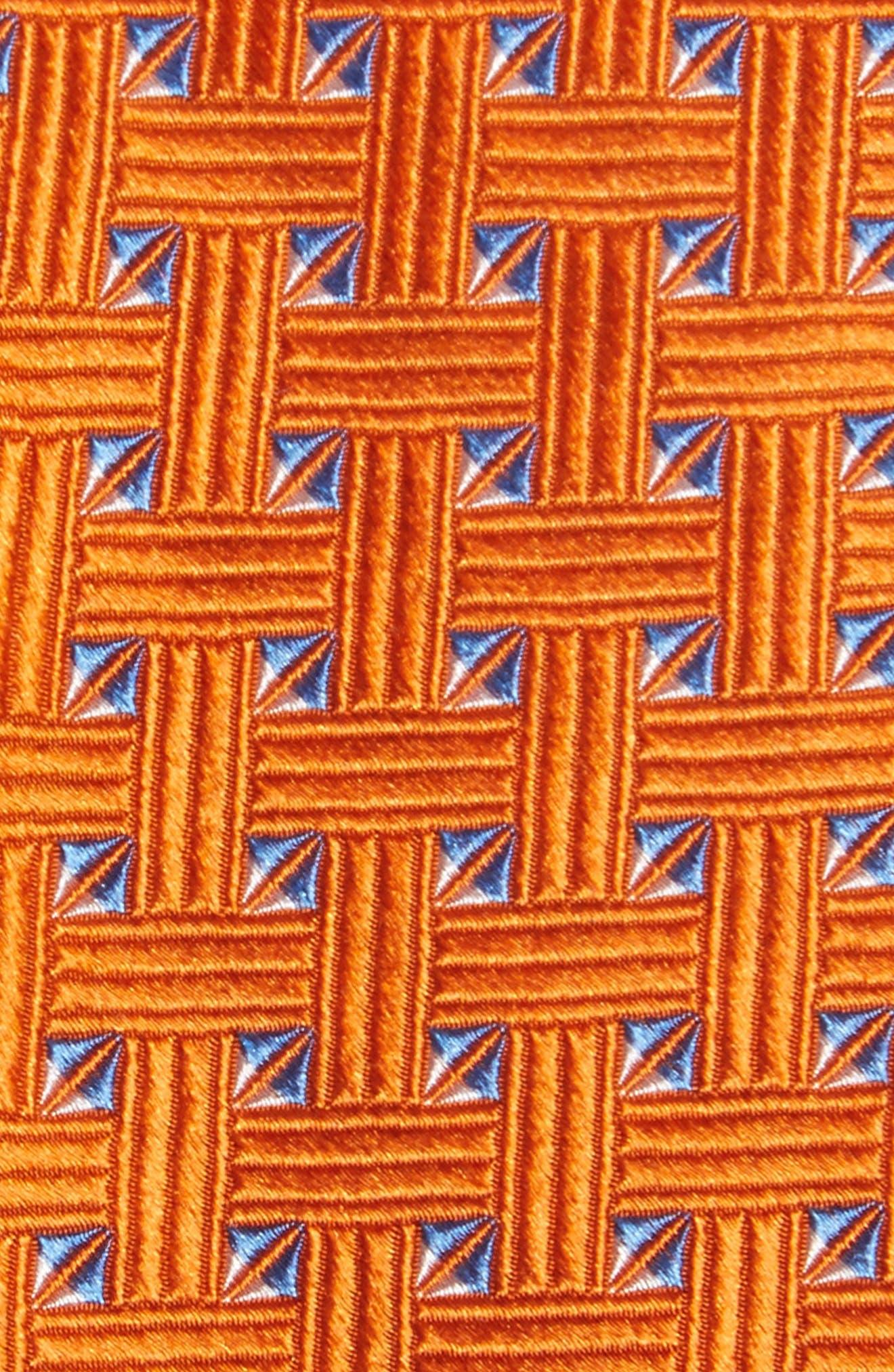 Geometric Silk Tie,                             Alternate thumbnail 14, color,