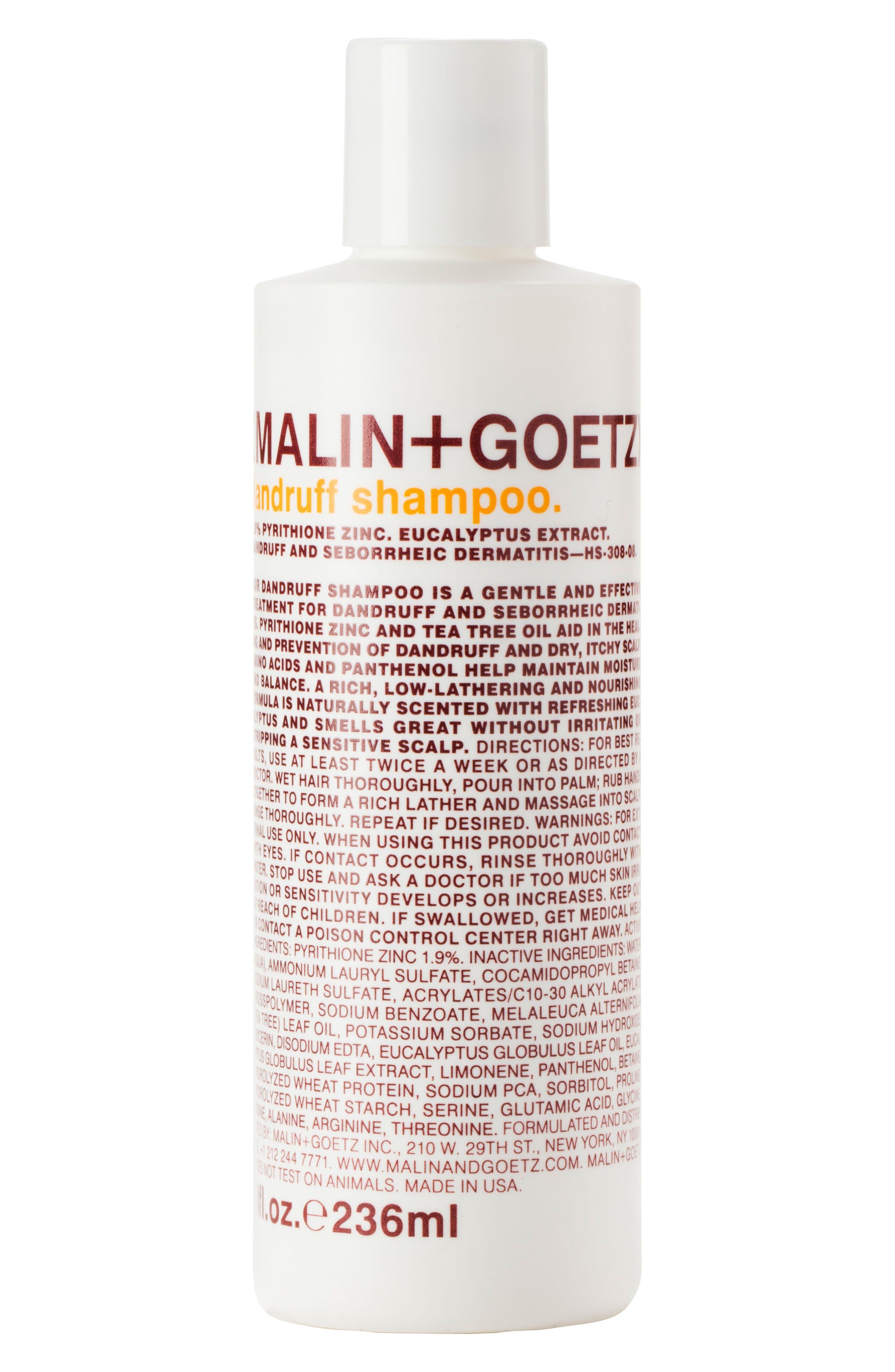 MALIN+GOETZ Dandruff Shampoo, Main, color, 000