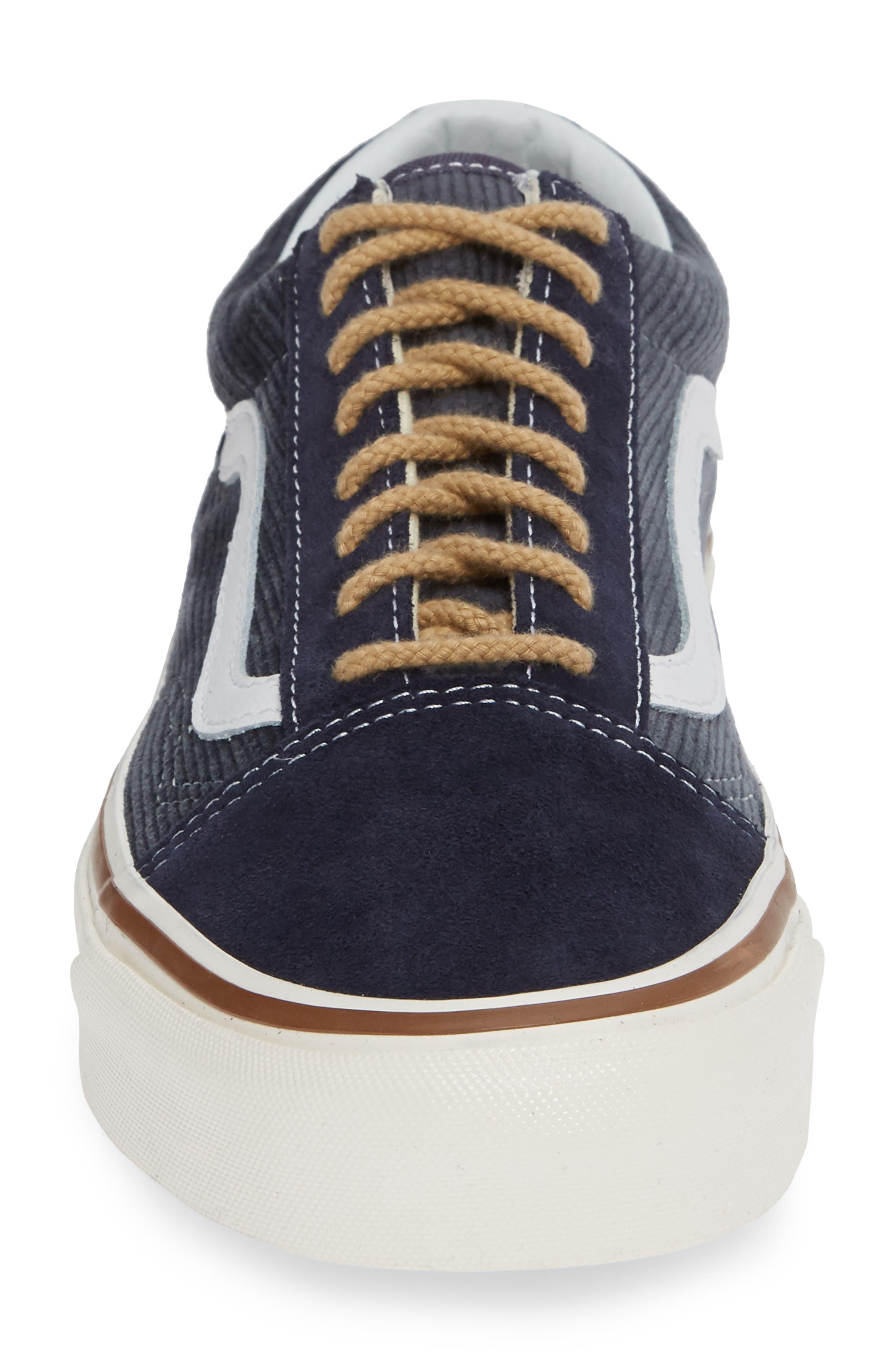 Anaheim Factory Old Skool 36 DX Sneaker,                             Alternate thumbnail 4, color,                             NAVY/ SUEDE/ CORDUROY
