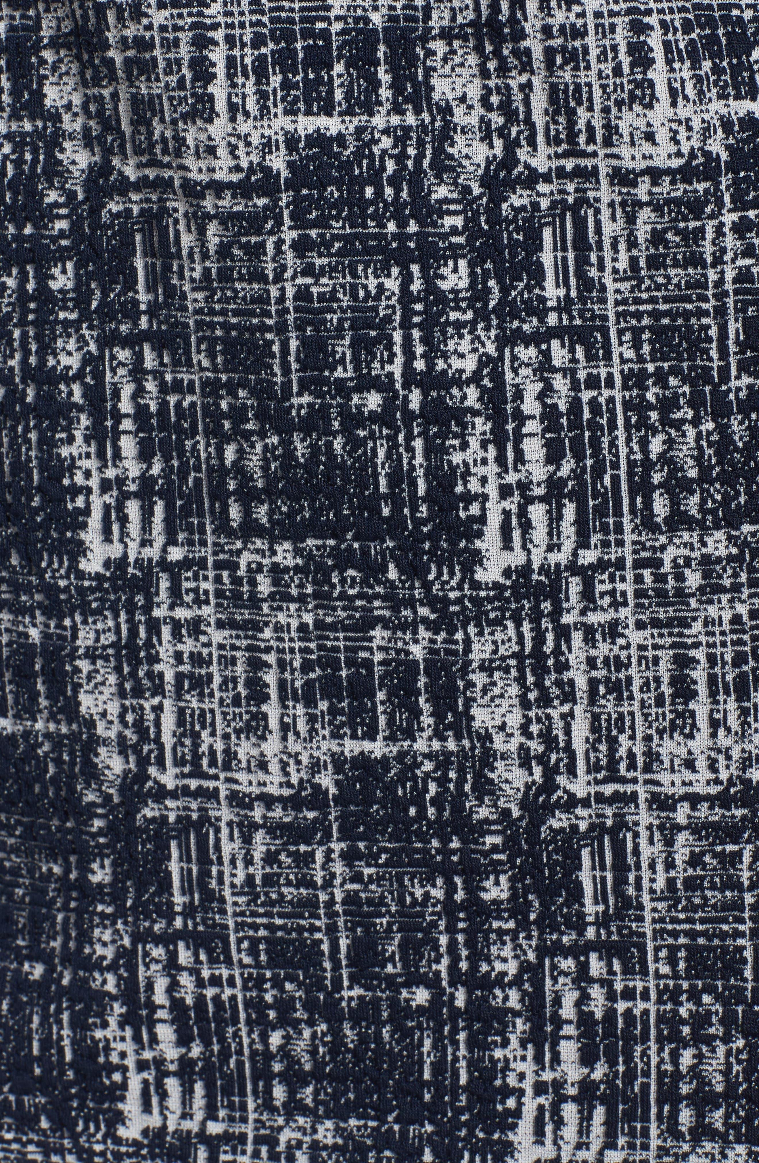 Midi Shift Dress,                             Alternate thumbnail 5, color,                             487