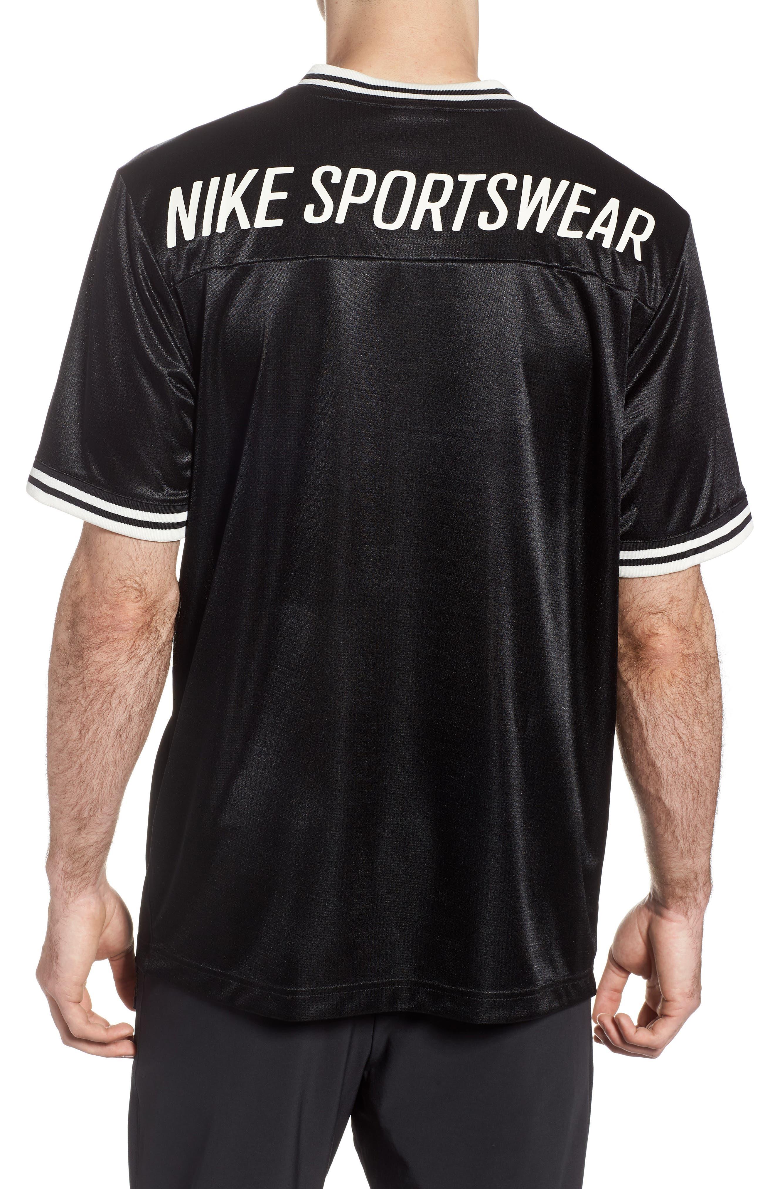 NIKE,                             NSW Archive V-Neck T-Shirt,                             Alternate thumbnail 2, color,                             010