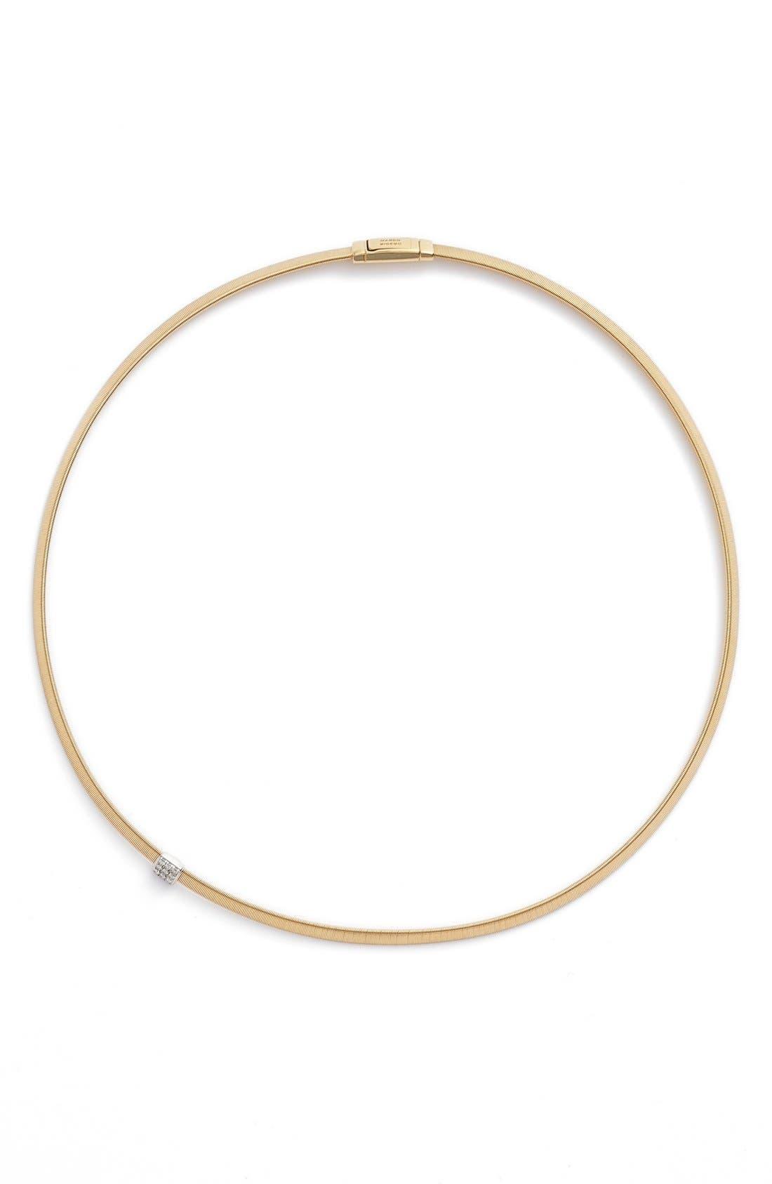 Masai Diamond Collar Necklace,                         Main,                         color, YELLOW GOLD