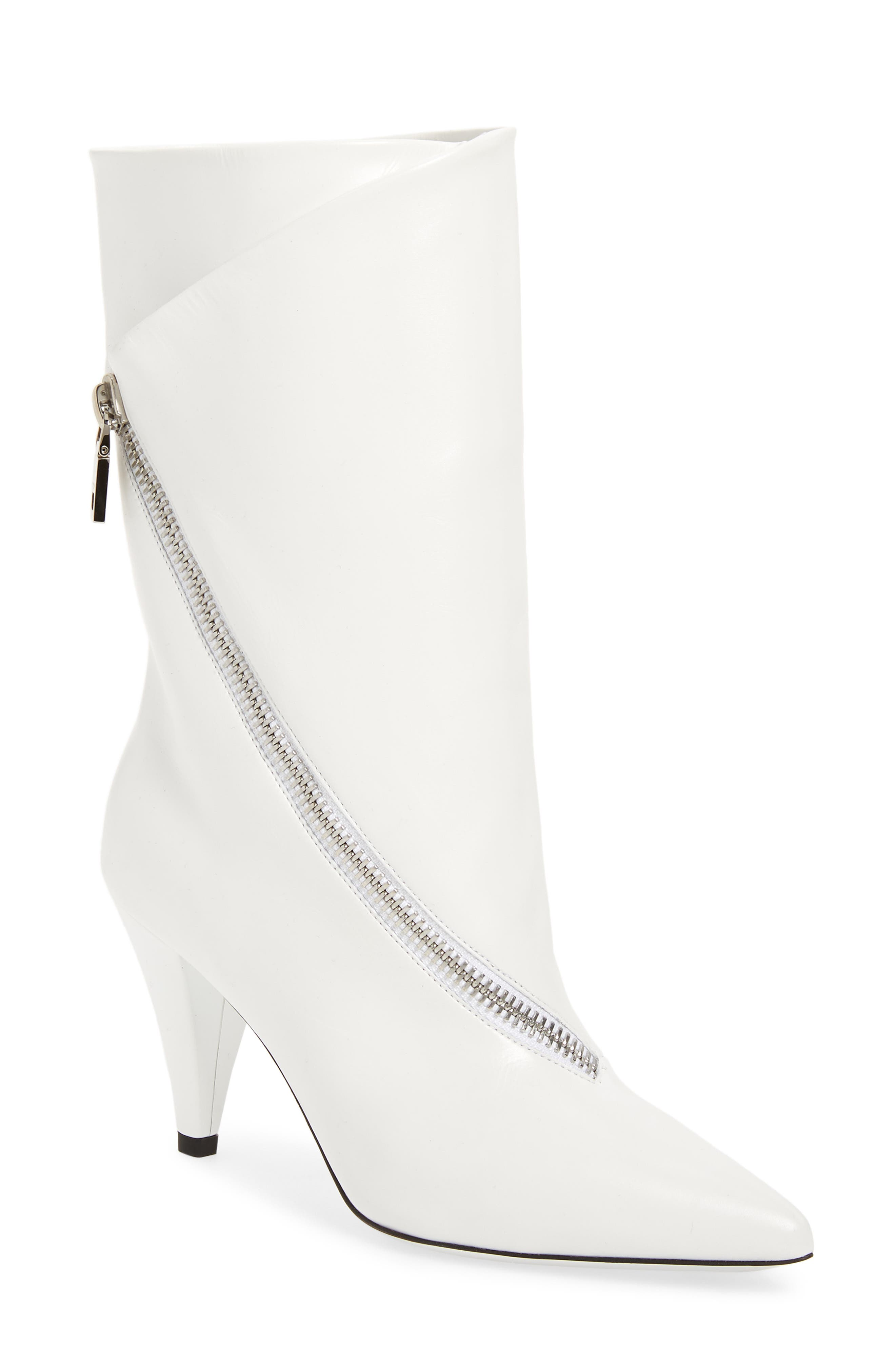 Show Bootie,                         Main,                         color, WHITE
