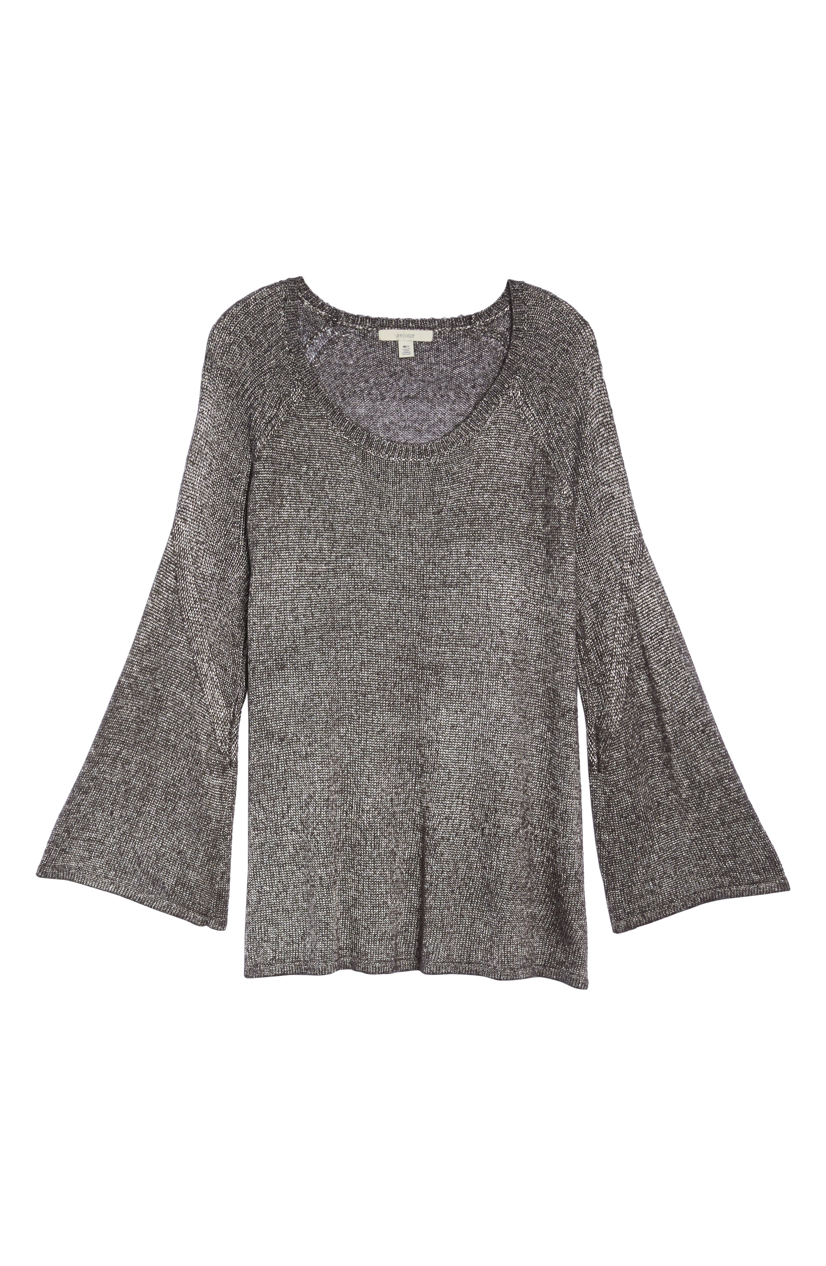 Bell Sleeve Sweater,                             Alternate thumbnail 11, color,